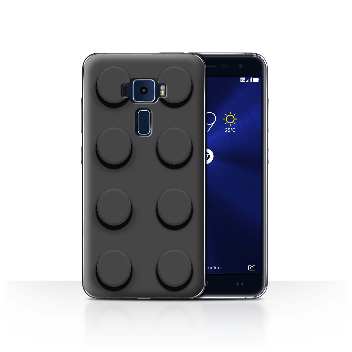 STUFF4-Back-Case-Cover-Skin-for-Asus-Zenfone-3-ZE552KL-Toy-Bricks-Blocks