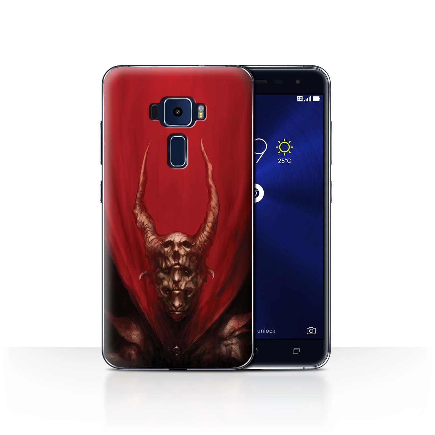 Official-Chris-Cold-Case-for-Asus-Zenfone-3-ZE552KL-Dark-Art-Demon
