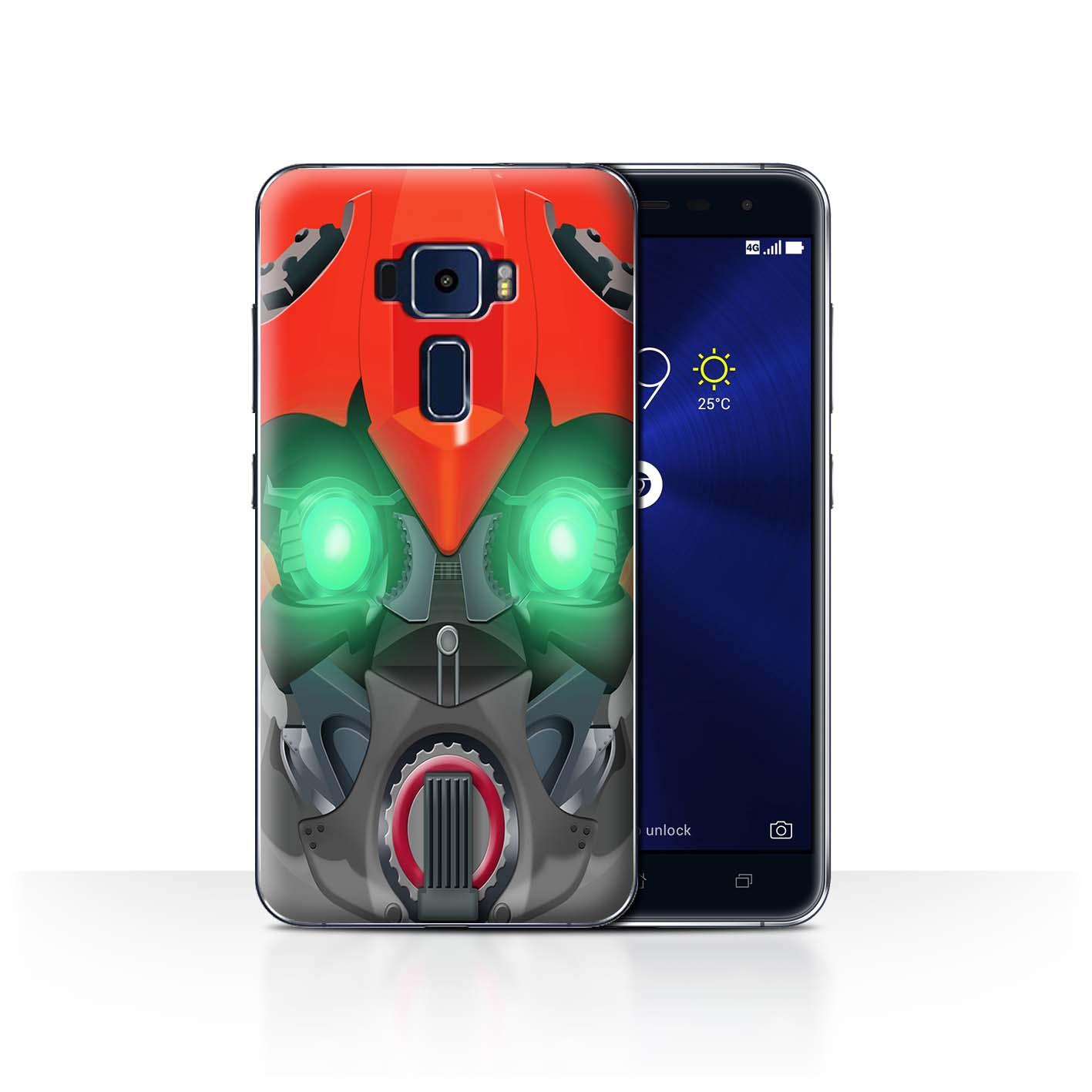 STUFF4-Back-Case-Cover-Skin-for-Asus-Zenfone-3-ZE552KL-Robots