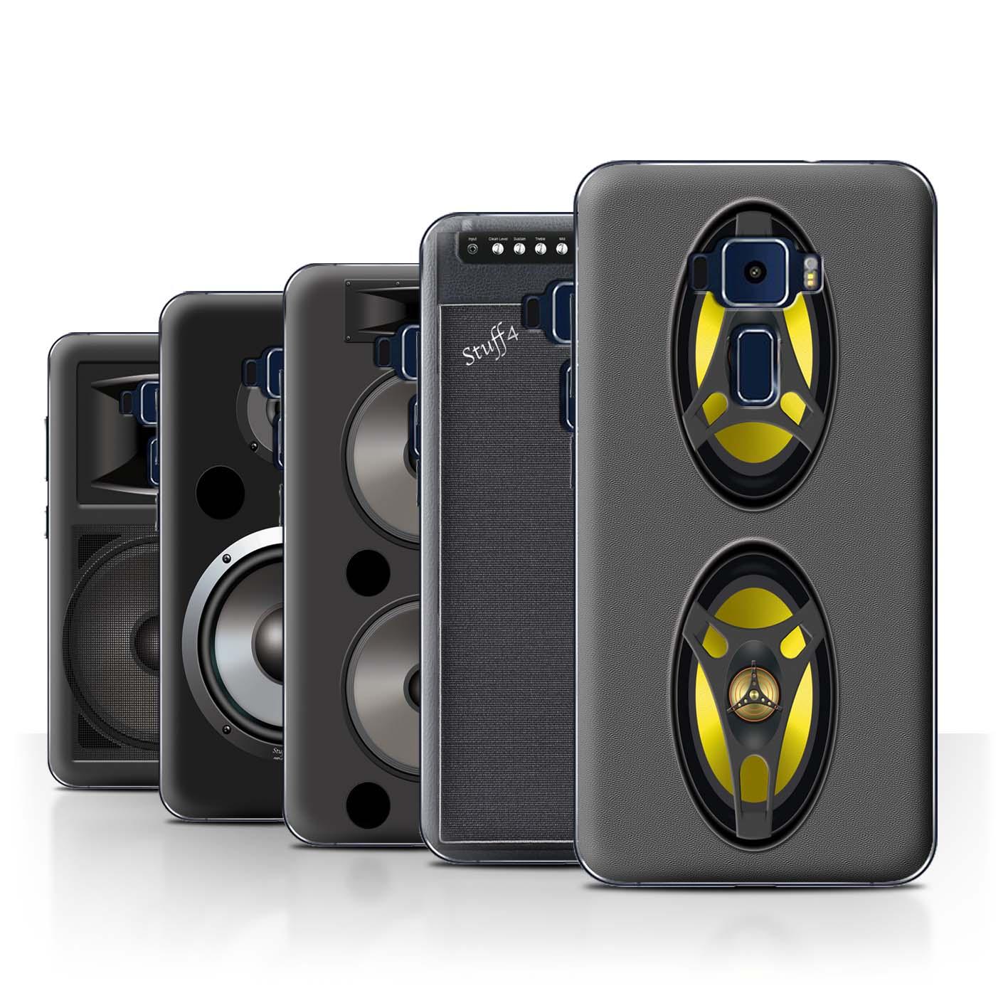STUFF4-Back-Case-Cover-Skin-for-Asus-Zenfone-3-ZE552KL-Speaker-Design