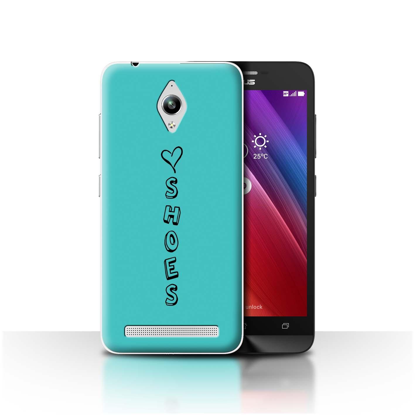 Stuff 4 teléfono caso/cubierta trasera para Asus ZenFone Go ZC500TG/Corazón Xoxo