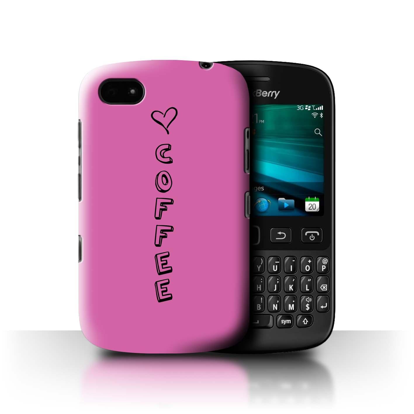 Stuff 4 Teléfono Caso/Cubierta Trasera Para Blackberry 9720/Corazón Xoxo