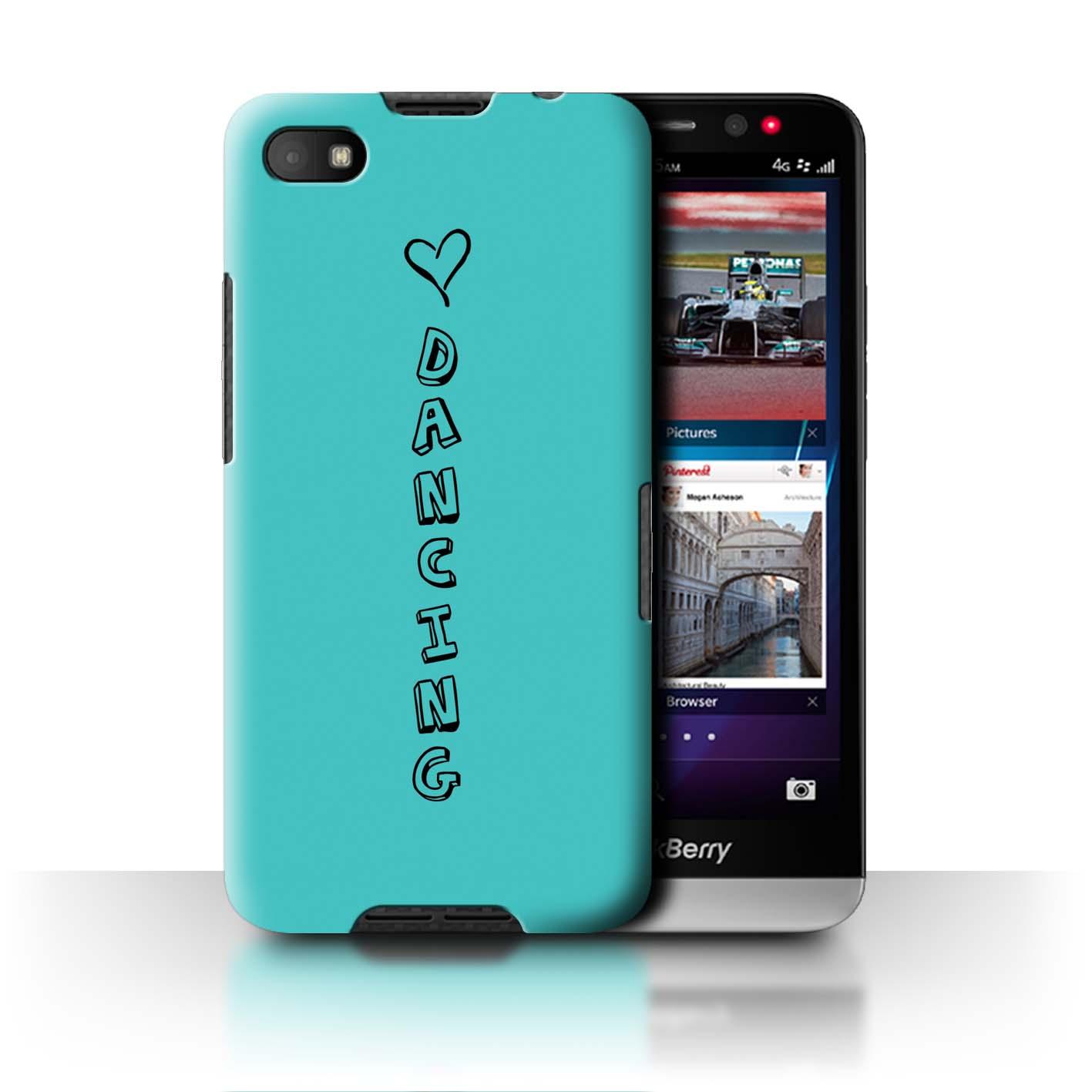 Stuff 4 Teléfono Caso/Cubierta Trasera Para Blackberry A10/Corazón Xoxo