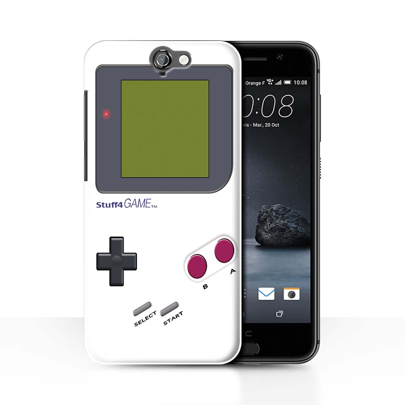 STUFF4-Back-Case-Cover-Skin-for-HTC-One-A9-Video-Gamer-Gameboy