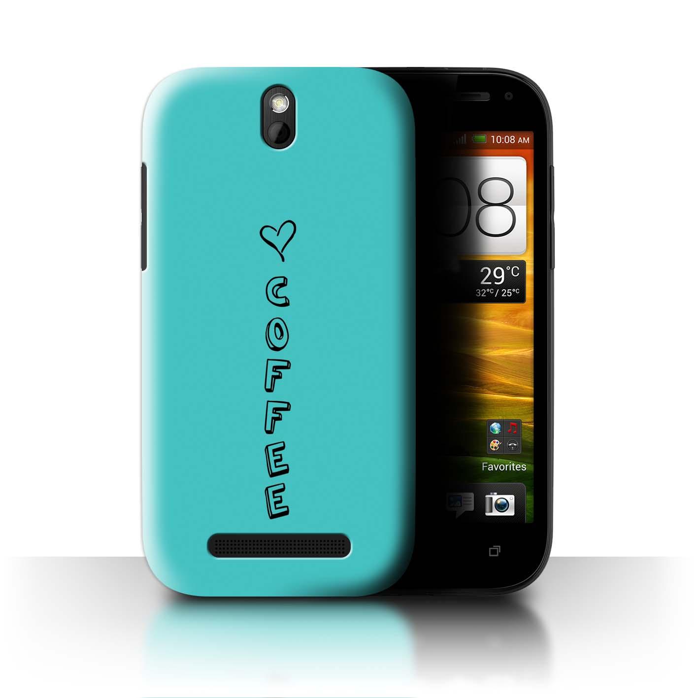 Stuff 4 teléfono caso/cubierta trasera para ST/Corazón Xoxo HTC One