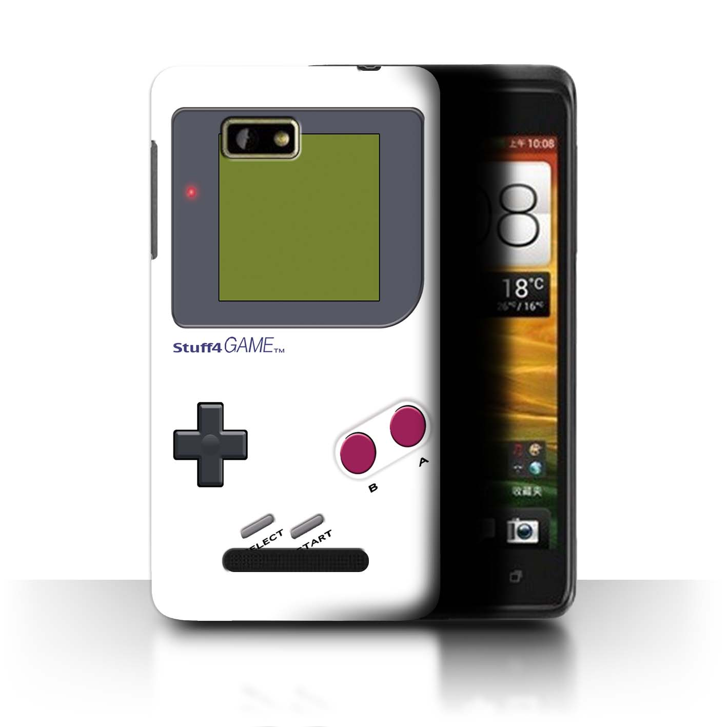 STUFF4-Back-Case-Cover-Skin-for-HTC-One-SU-Video-Gamer-Gameboy