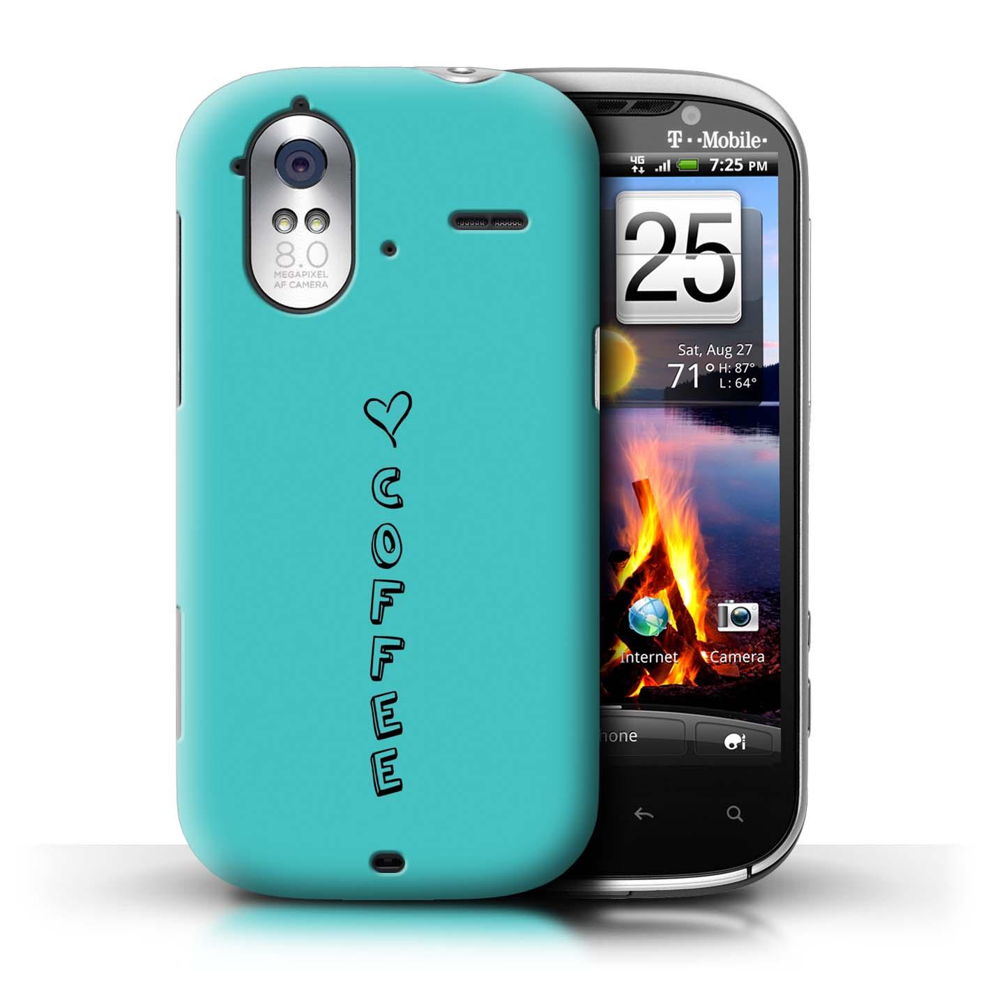 Stuff 4 Teléfono Caso/Cubierta Trasera Para HTC Amaze 4G/Corazón Xoxo