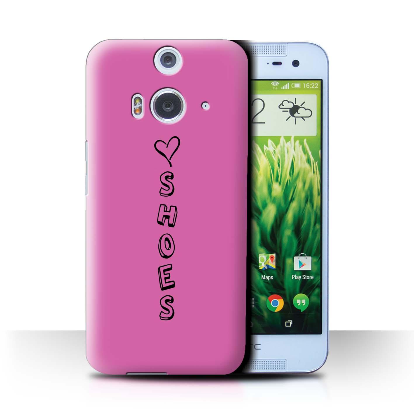 Stuff 4 teléfono caso/cubierta trasera para HTC Butterfly 2/Corazón Xoxo