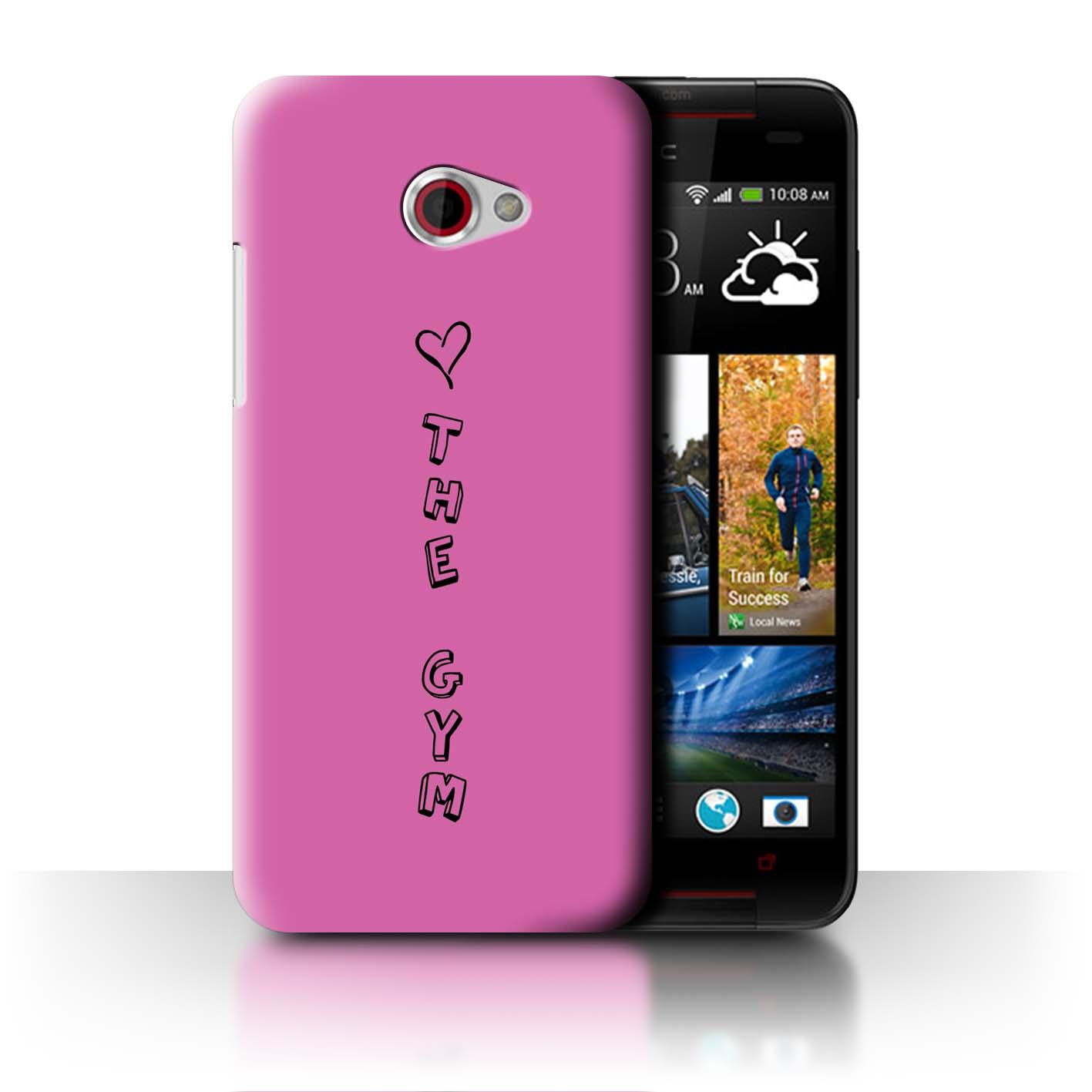 Stuff4 Hülle/Case/Backcover für HTC Butterfly S/Herz XOXO