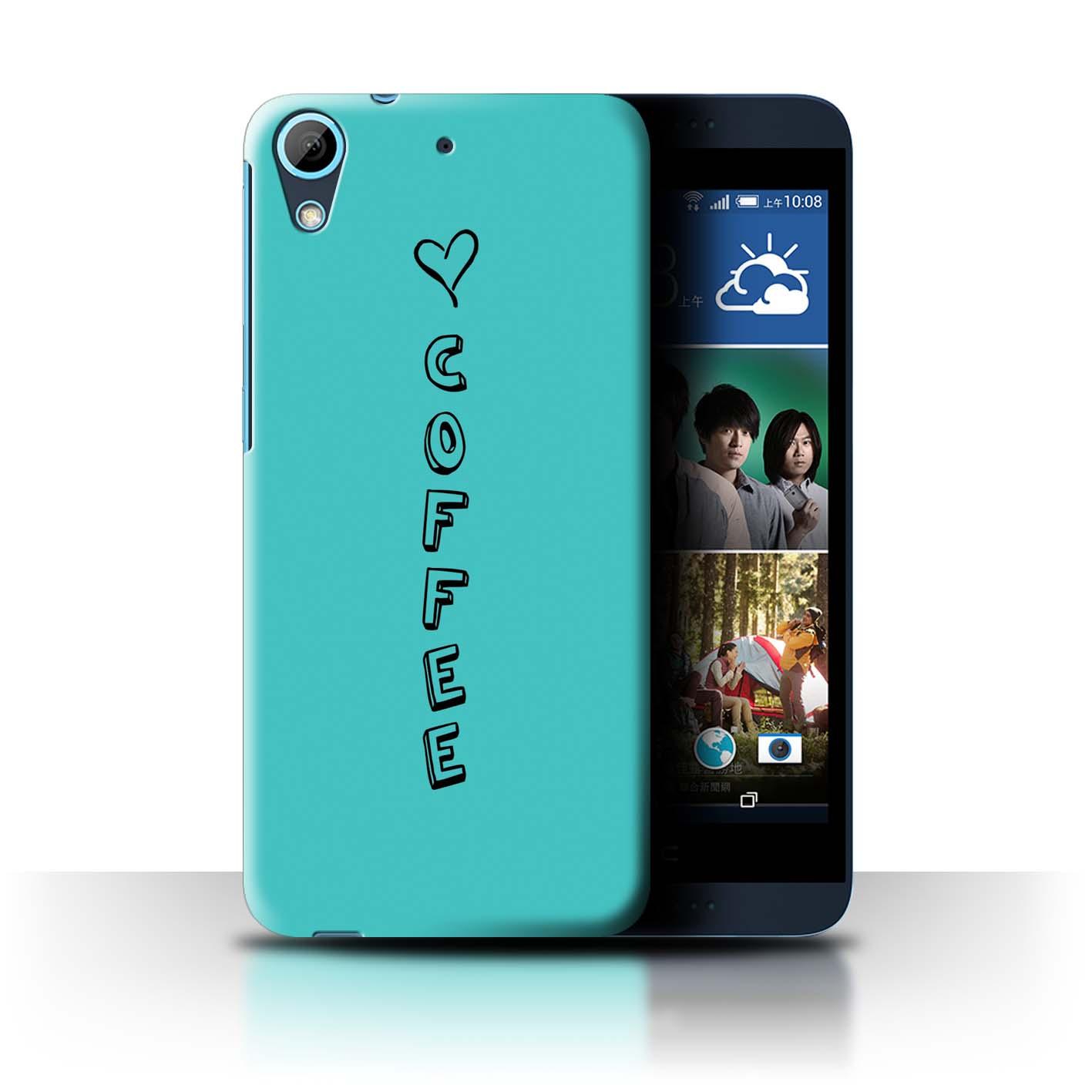 Stuff 4 teléfono caso/cubierta trasera para HTC Desire 626/Corazón Xoxo