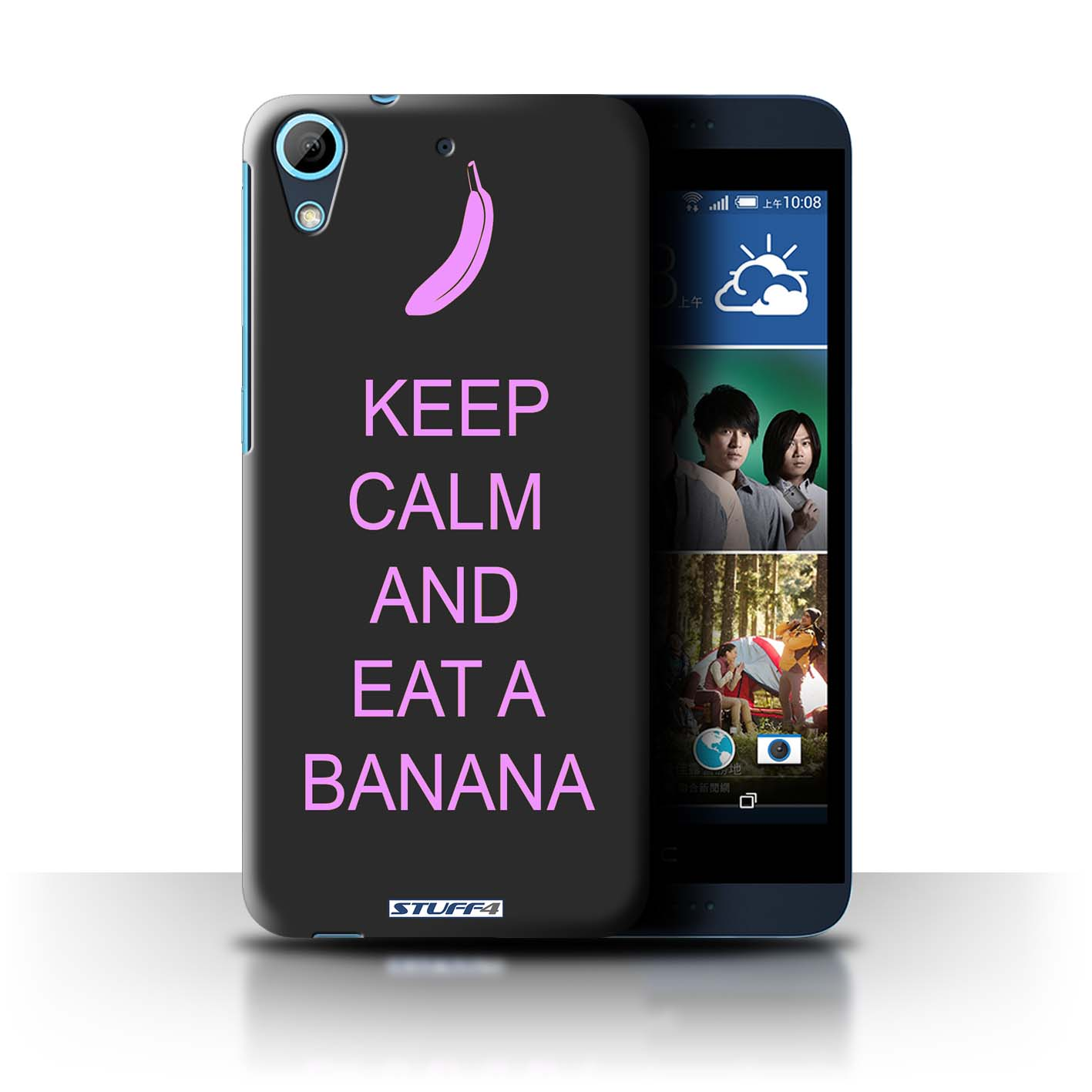 STUFF4 Back Case/Cover/Skin for HTC Desire 626G+/Keep Calm