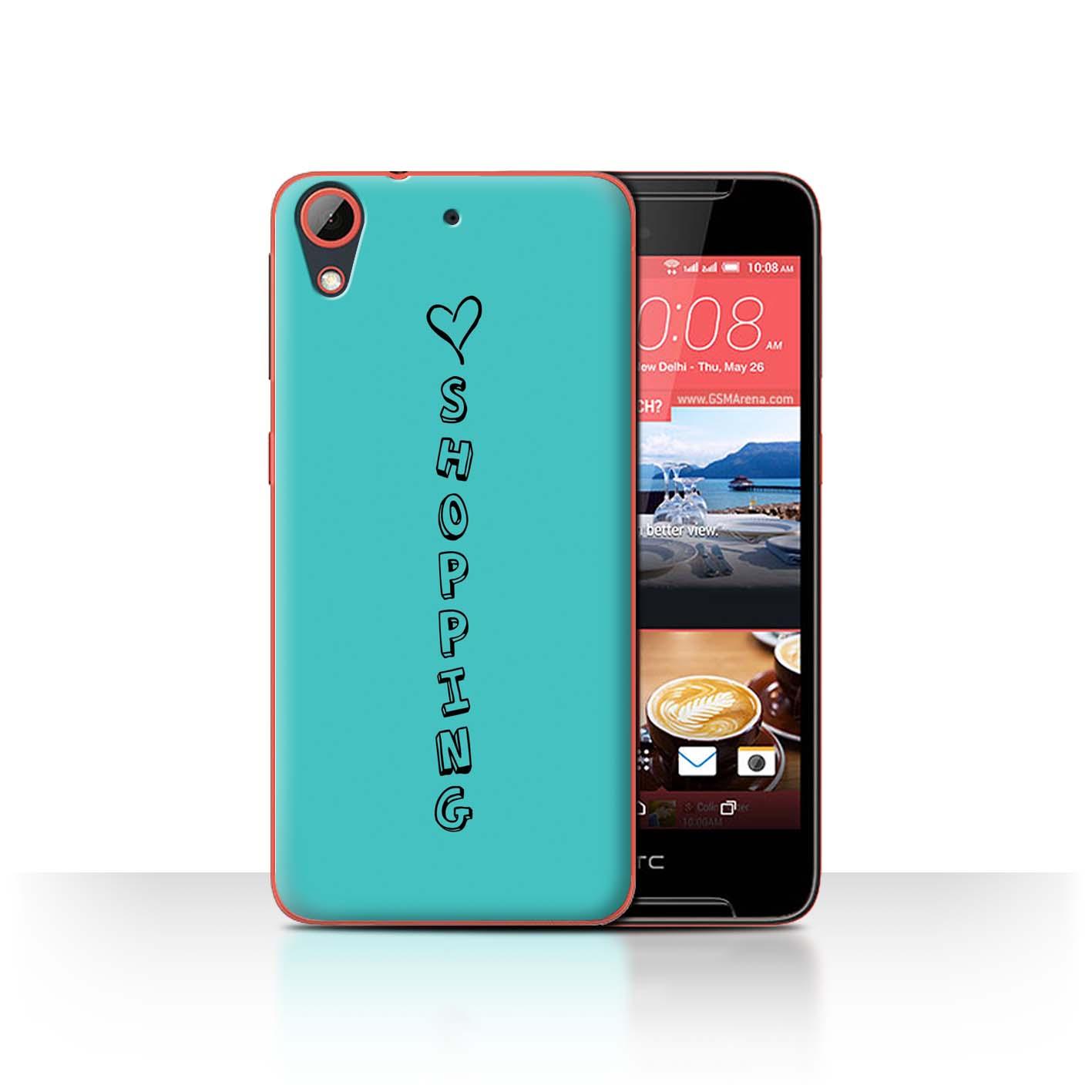 Stuff 4 teléfono caso/cubierta trasera para HTC Desire 628/Corazón Xoxo