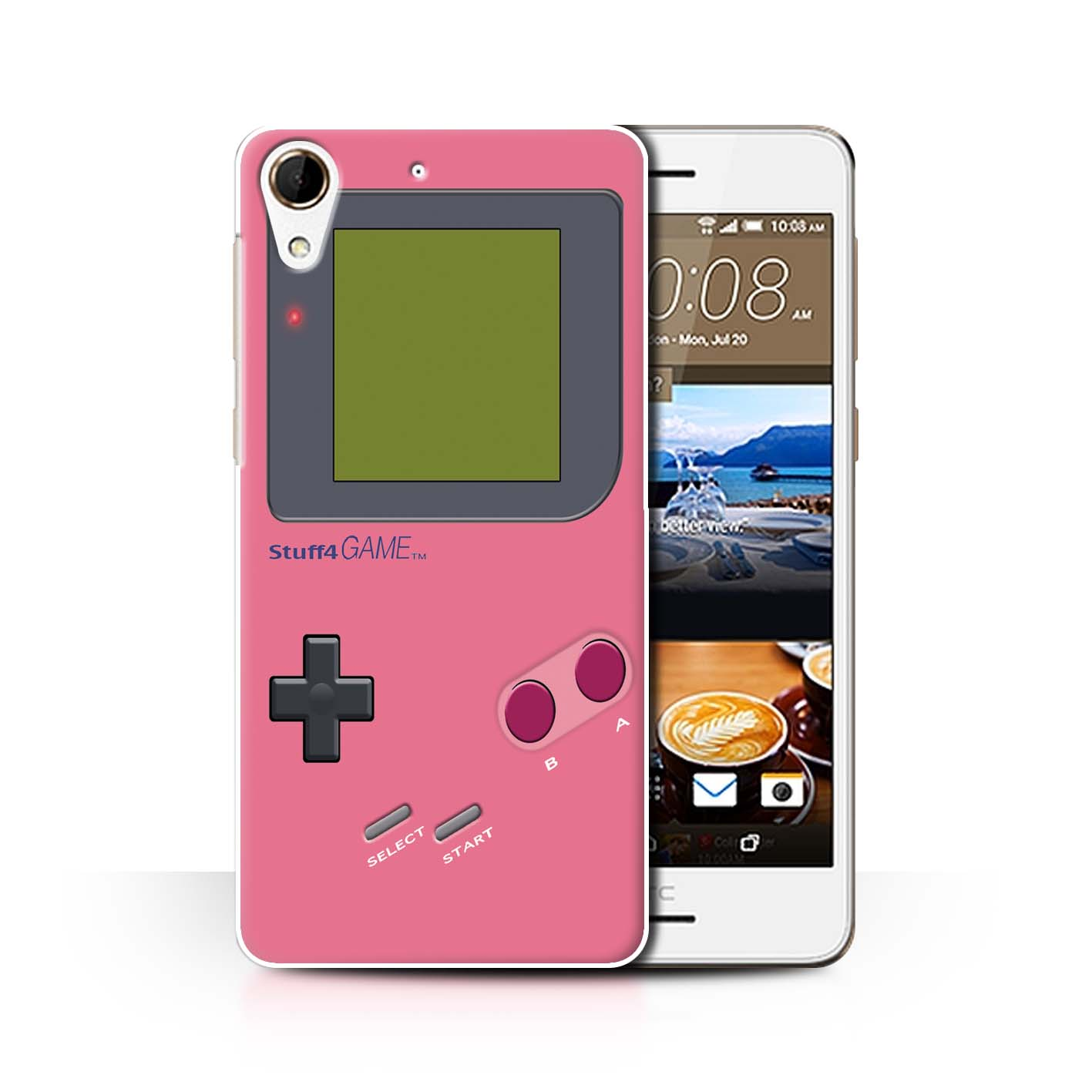 STUFF4-Back-Case-Cover-Skin-for-HTC-Desire-728-Video-Gamer-Gameboy