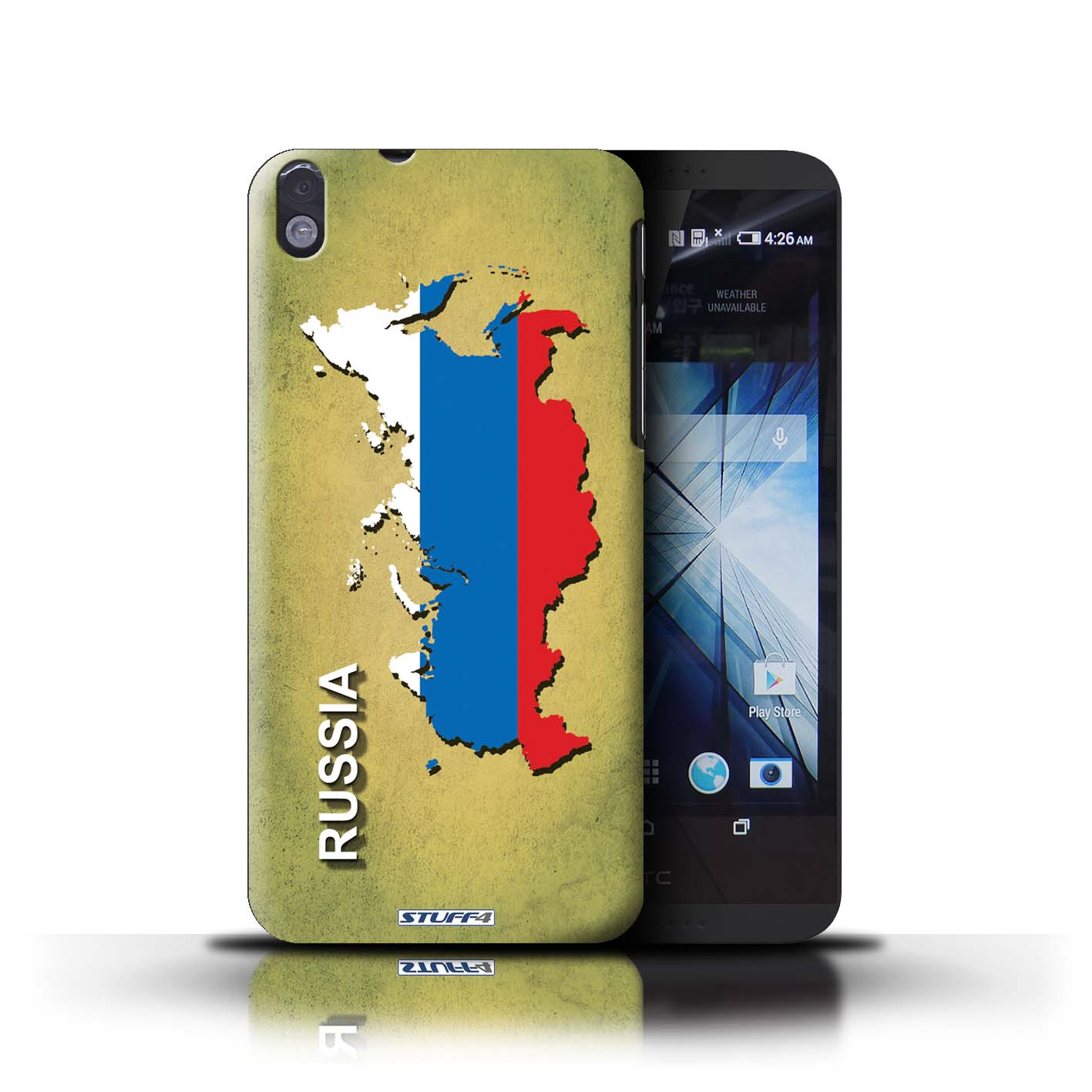 STUFF4 Back Case/Cover/Skin for HTC Desire 816/Flag Nations