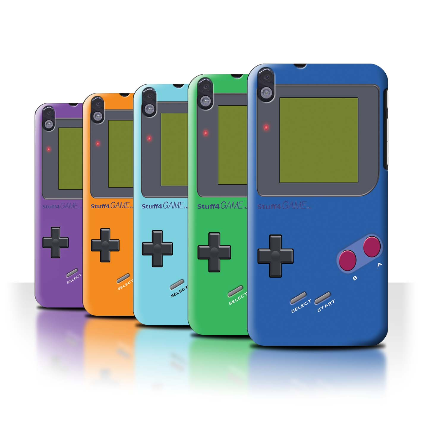 STUFF4-Back-Case-Cover-Skin-for-HTC-Desire-816G-Dual-Video-Gamer-Gameboy
