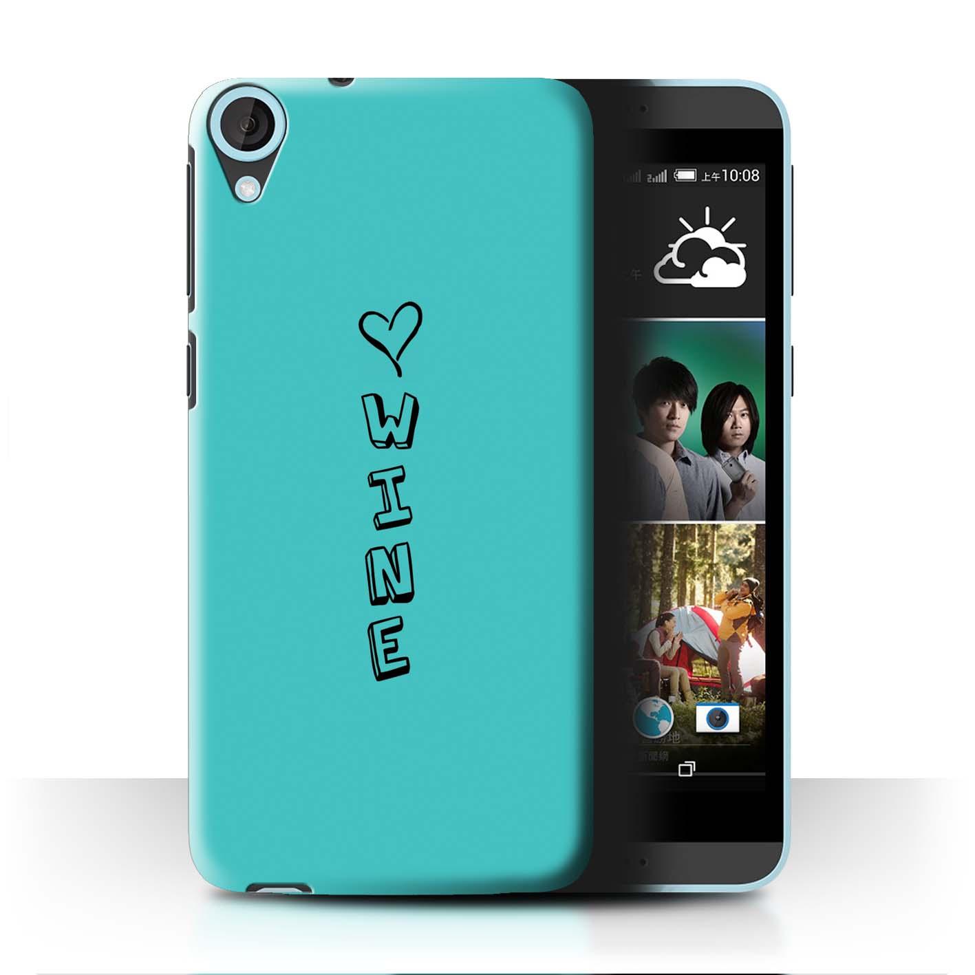 Stuff 4 teléfono caso/cubierta trasera para HTC Desire 820s Dual/Corazón Xoxo