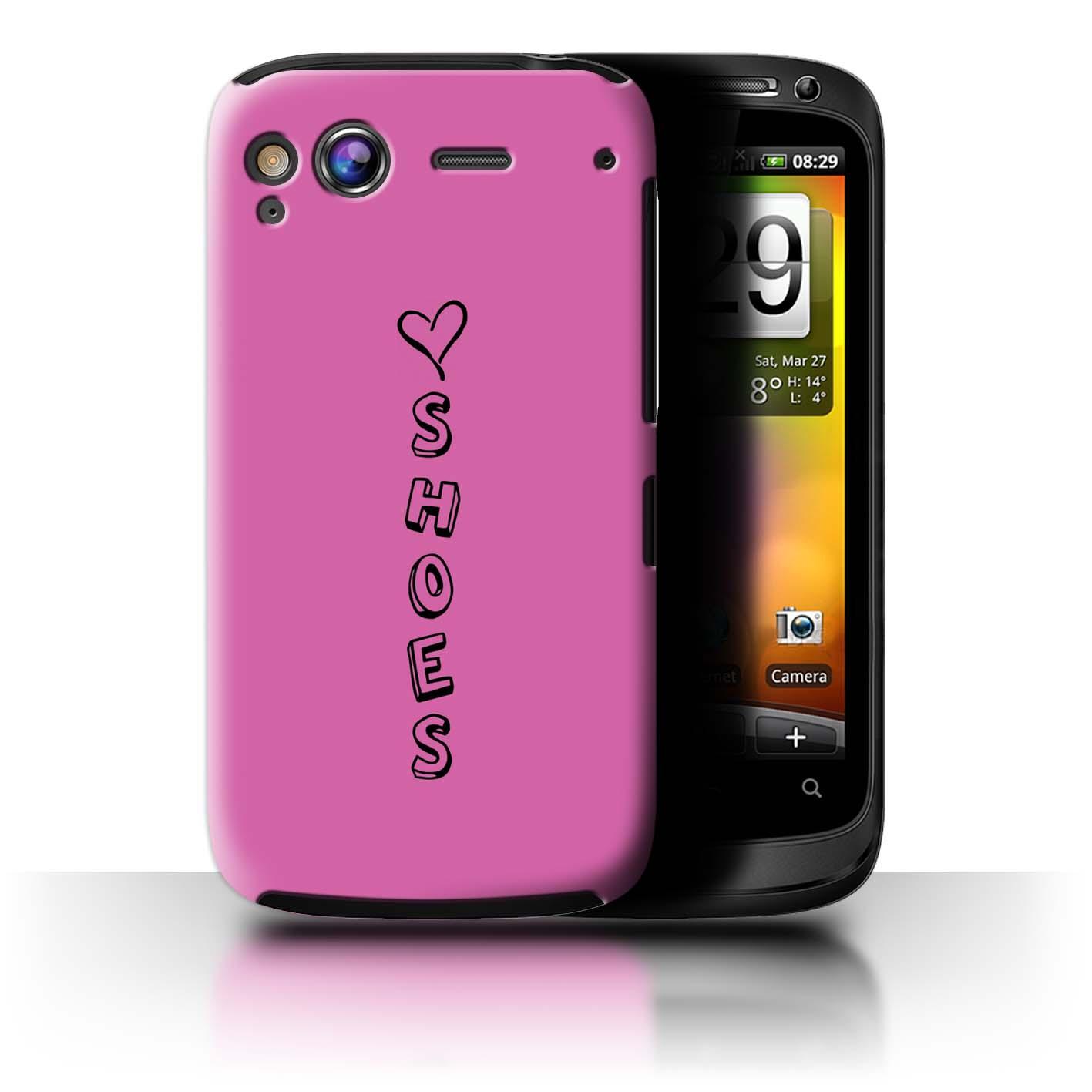 Stuff 4 teléfono caso/cubierta trasera para HTC Desire/Corazón Xoxo S