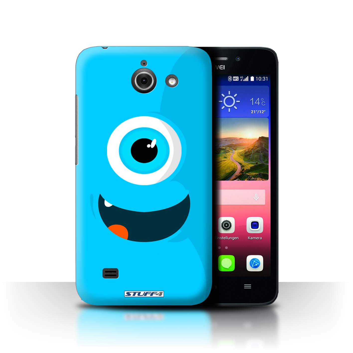 coque huawei ascend y 550