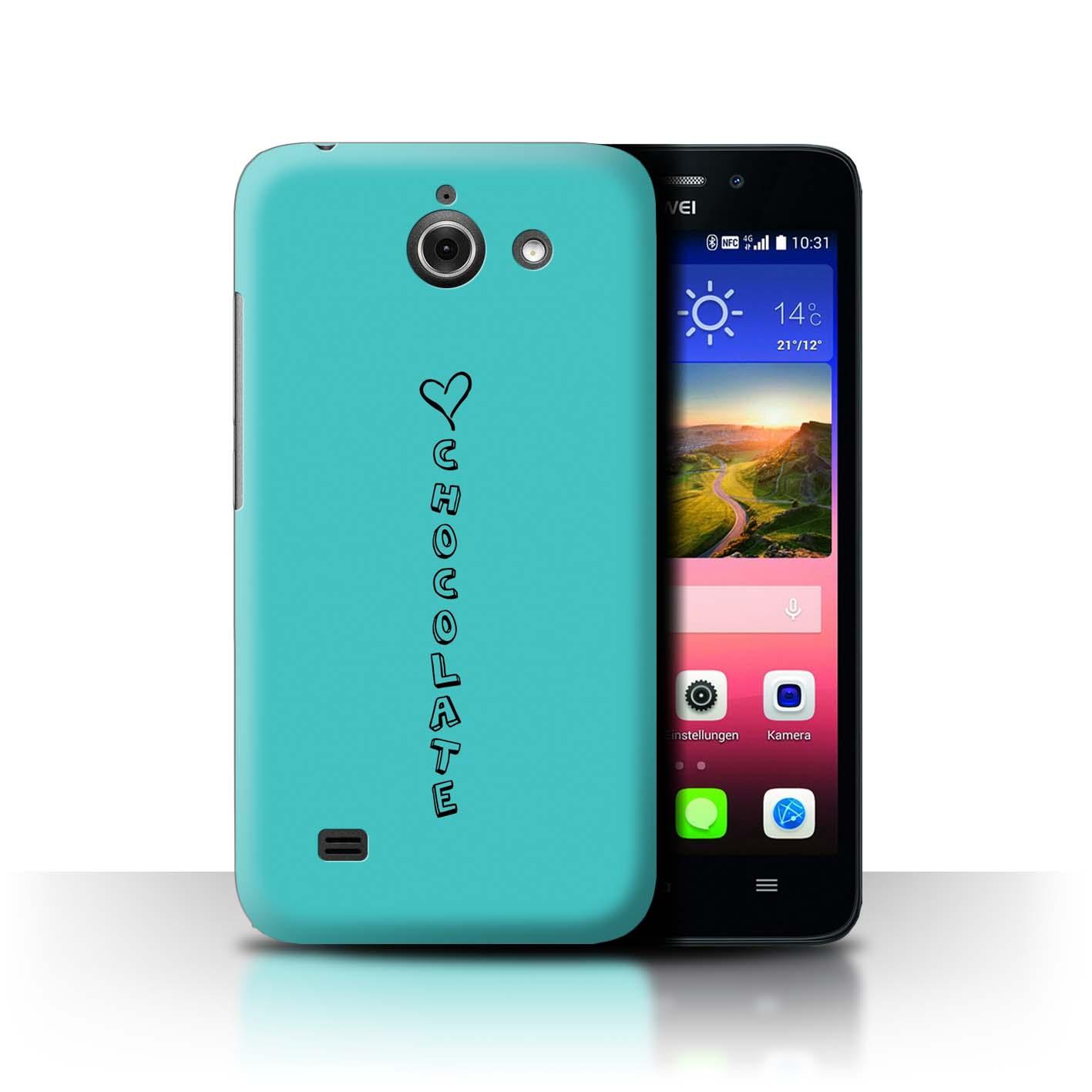 Stuff 4 teléfono caso/cubierta trasera para Huawei Ascend Y550 LTE/Corazón Xoxo