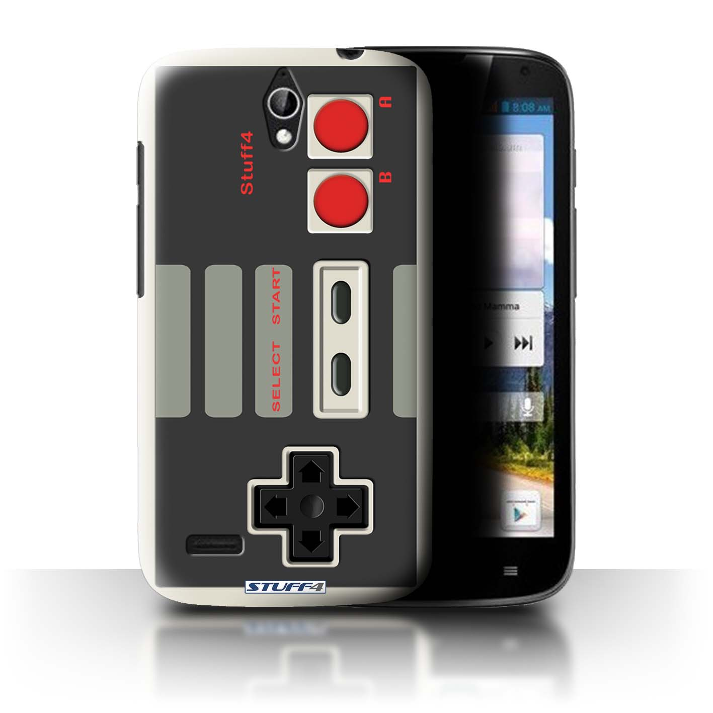 STUFF4 Back Case/Cover/Skin for Huawei Ascend G610/Games Console