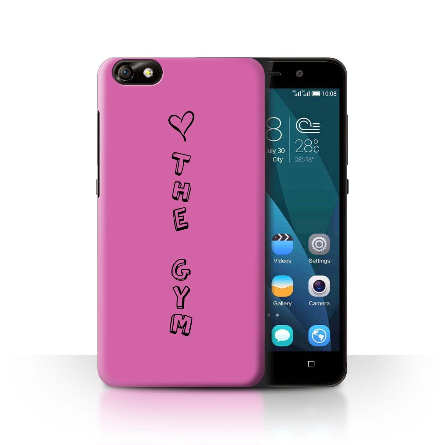 Stuff 4 teléfono caso/cubierta trasera para Huawei Glory Play 4X/Corazón Xoxo