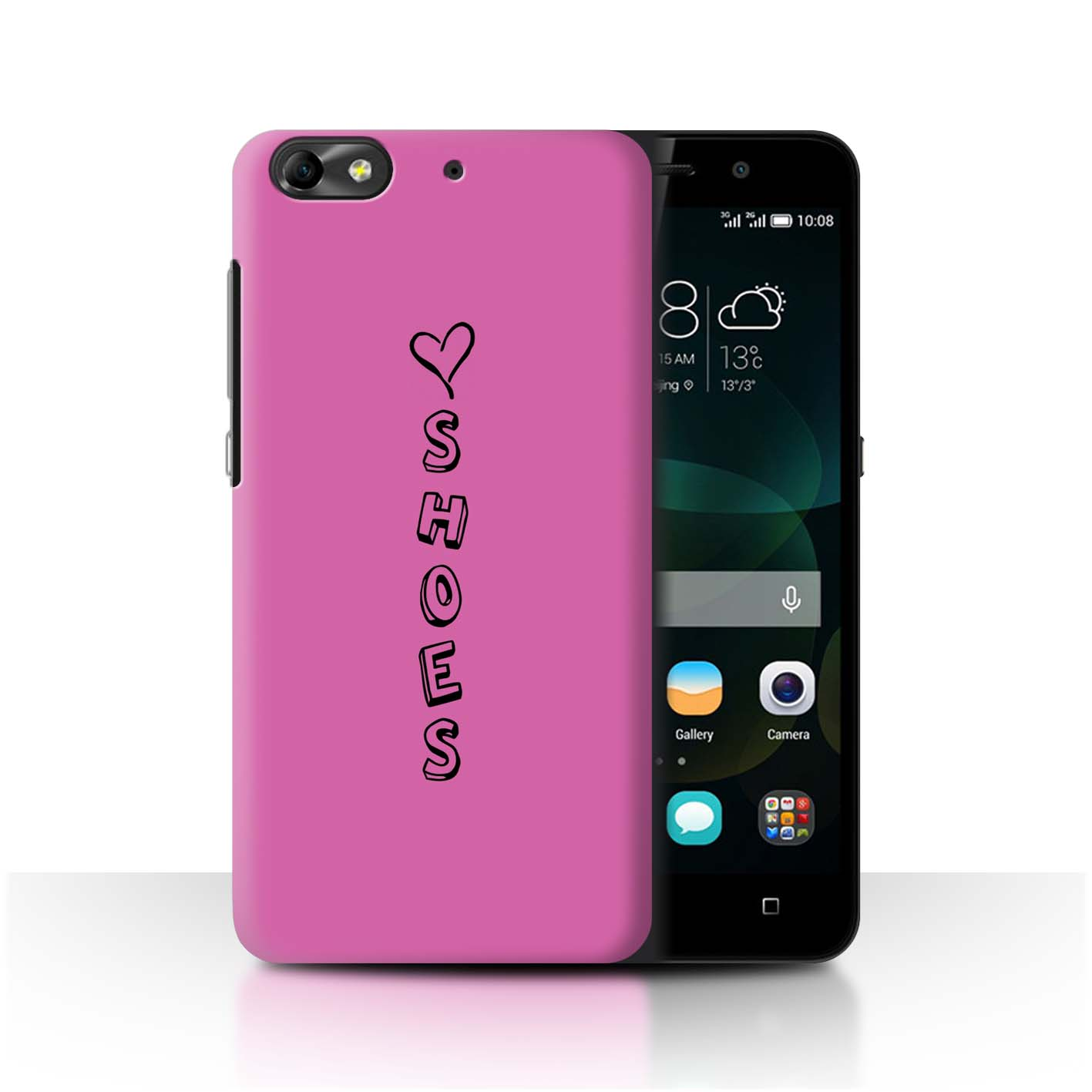 Stuff 4 teléfono caso/cubierta trasera para Huawei G Play Mini/Corazón Xoxo