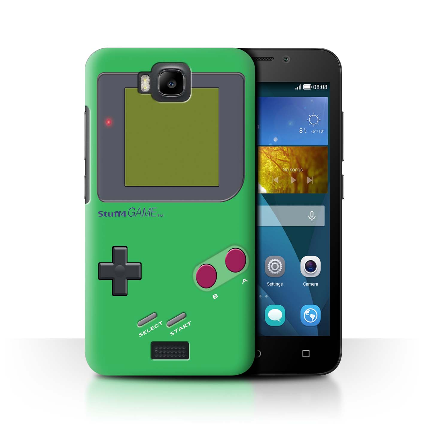 STUFF4-Back-Case-Cover-Skin-for-Huawei-Honor-Bee-Y5c-Video-Gamer-Gameboy