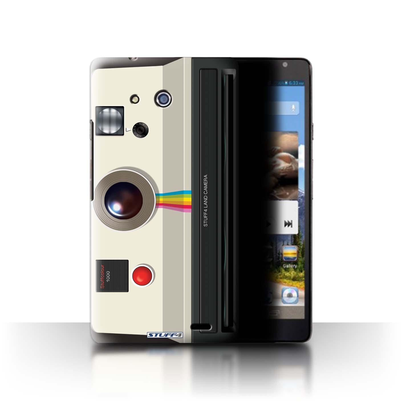 STUFF4 Phone Case/Back Cover for Huawei Ascend Mate /Camera