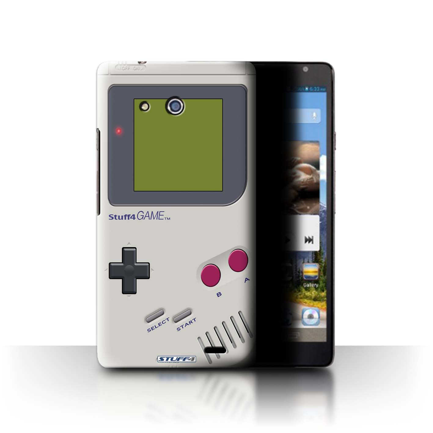 STUFF4 Phone Case/Back Cover for Huawei Ascend Mate /Games Console