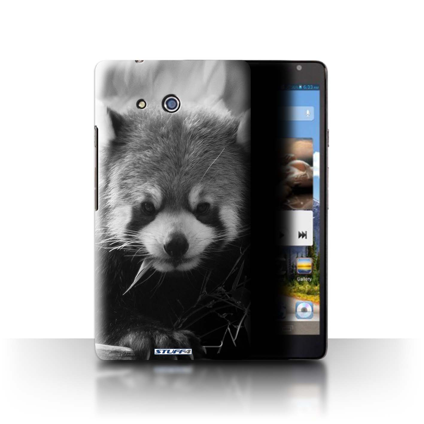 STUFF4 Phone Case/Back Cover for Huawei Ascend Mate /Mono Zoo Animals