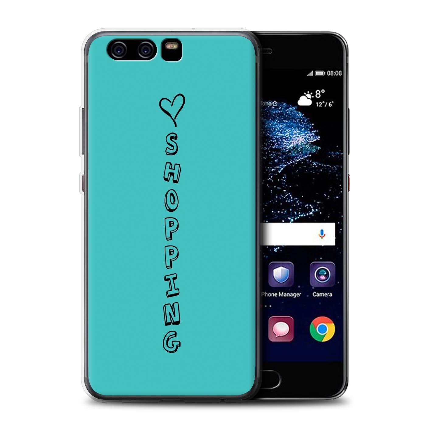 Stuff 4 Gel/TPU teléfono caso para Huawei P10/Corazón Xoxo