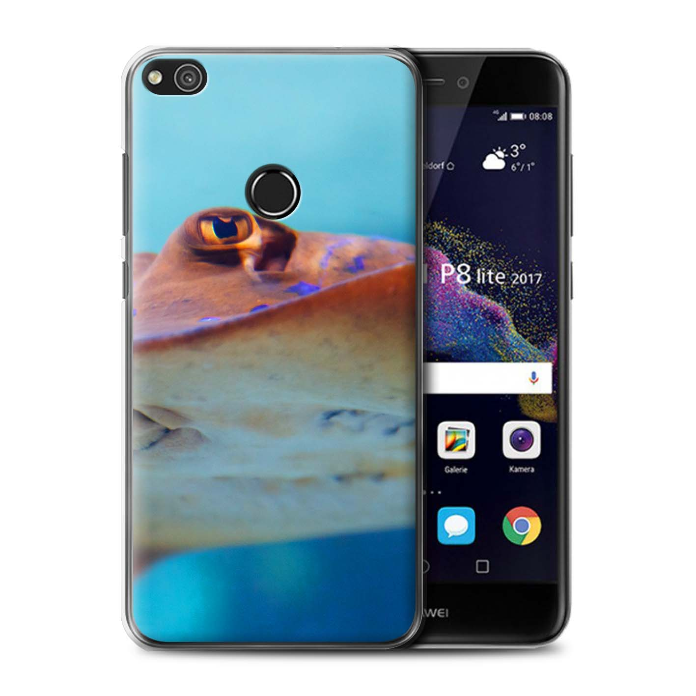 coque huawei p8 lite requin