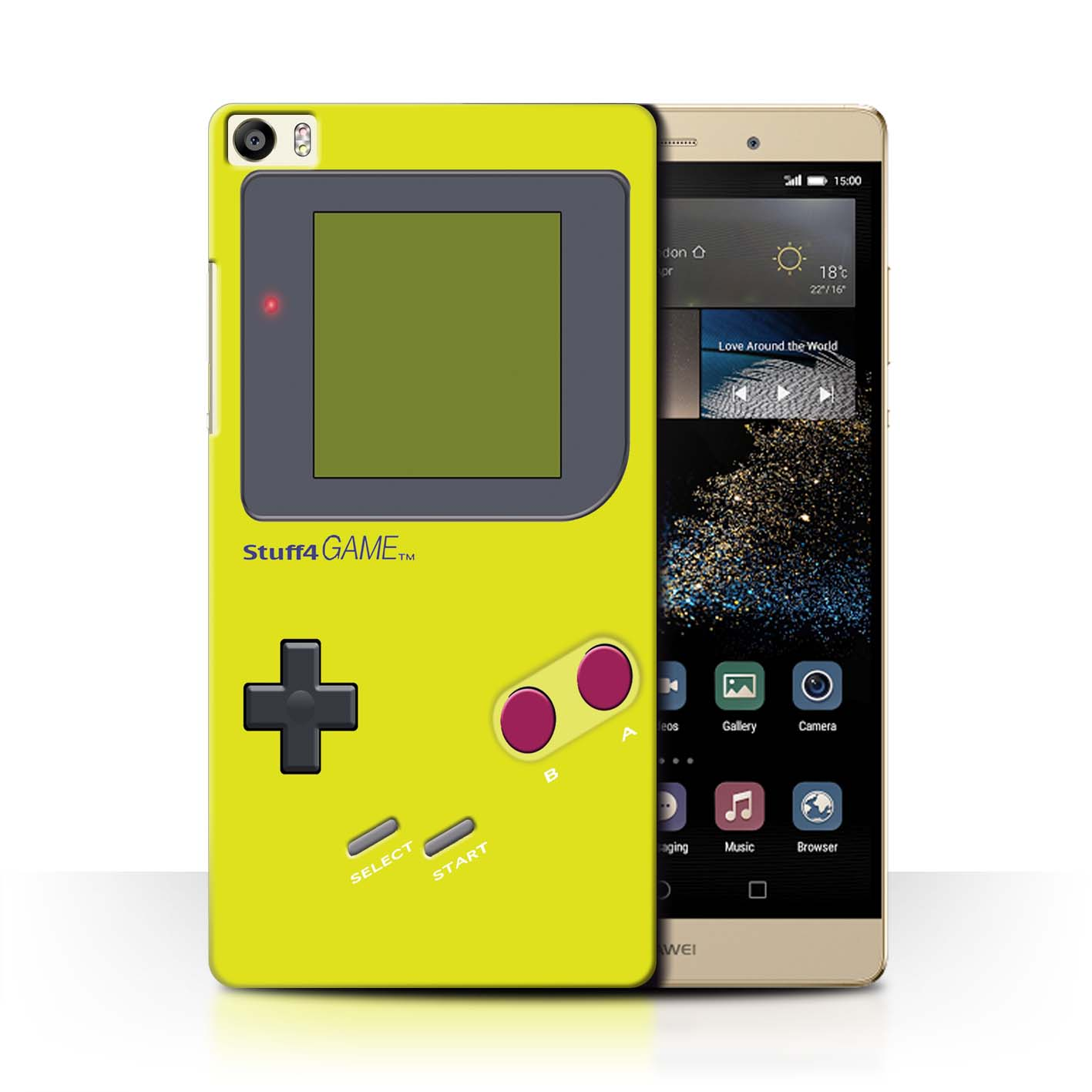 STUFF4-Back-Case-Cover-Skin-for-Huawei-P8-Max-Video-Gamer-Gameboy