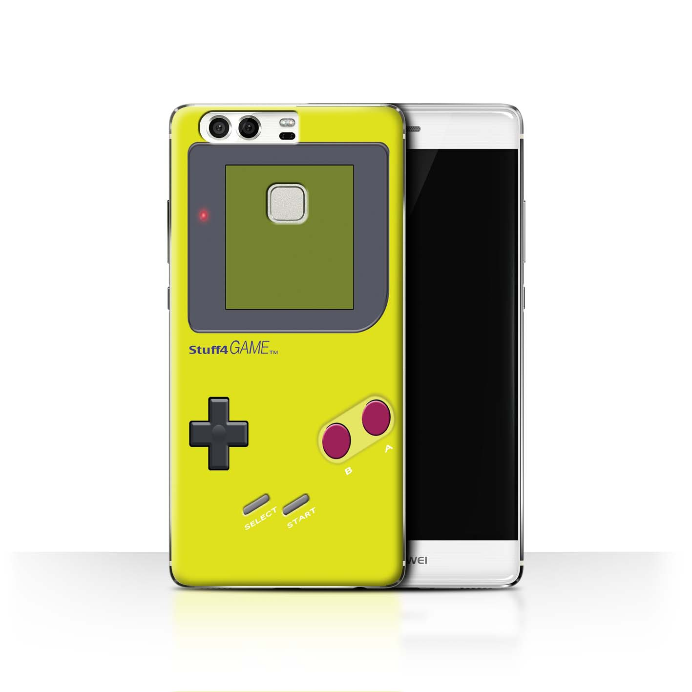 STUFF4-Back-Case-Cover-Skin-for-Huawei-P9-Video-Gamer-Gameboy