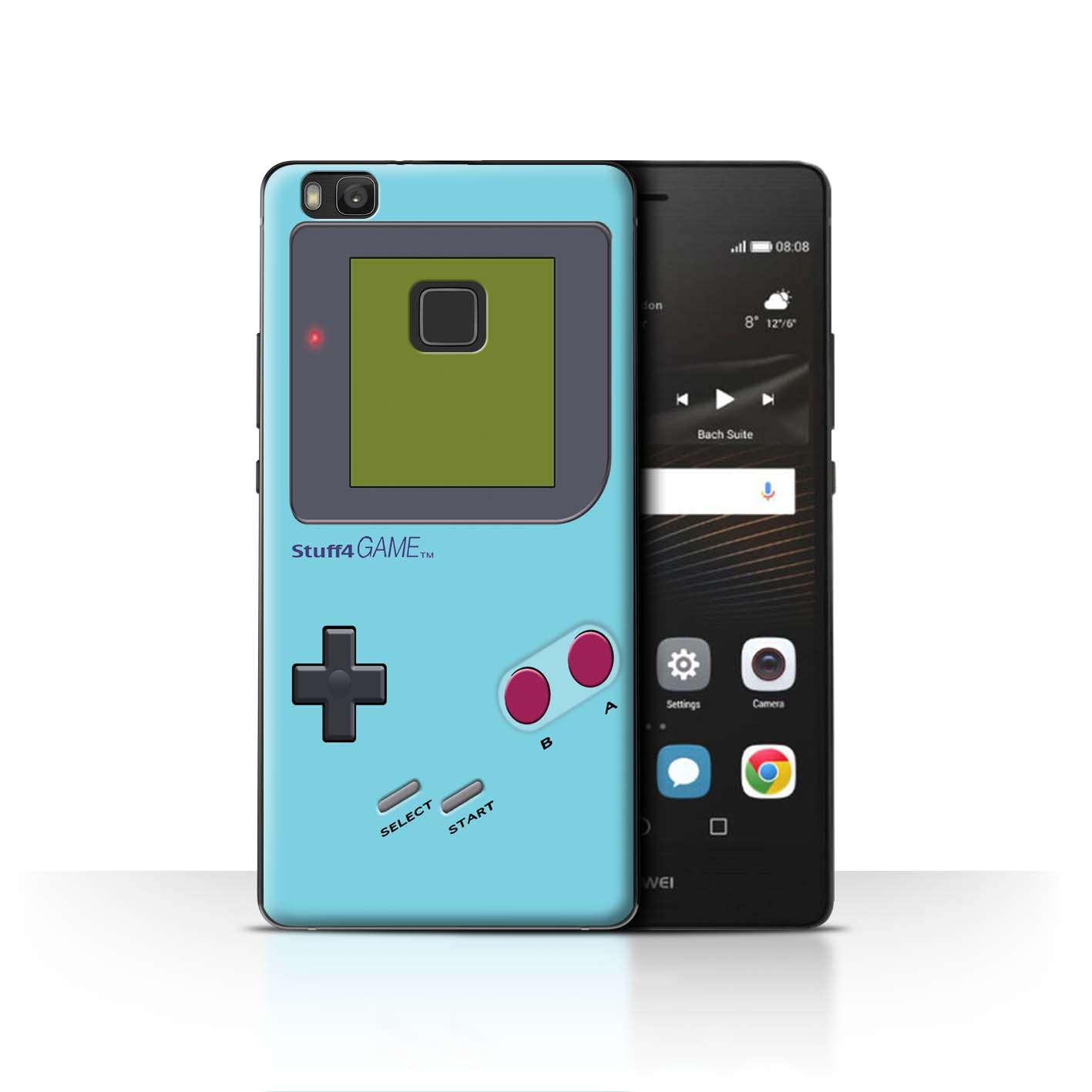 STUFF4-Back-Case-Cover-Skin-for-Huawei-P9-Lite-Video-Gamer-Gameboy