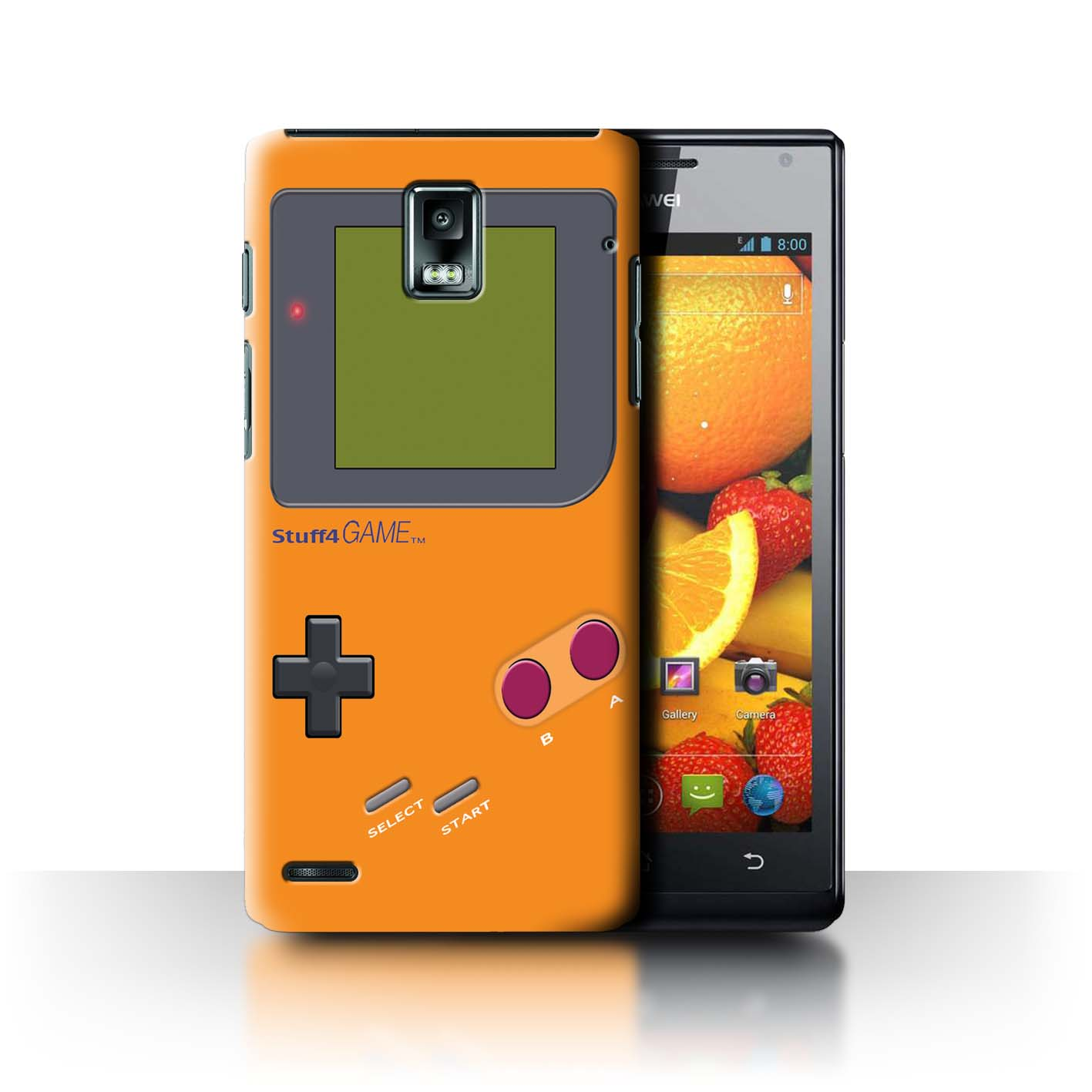 STUFF4-Back-Case-Cover-Skin-for-Huawei-Ascend-P1-Video-Gamer-Gameboy