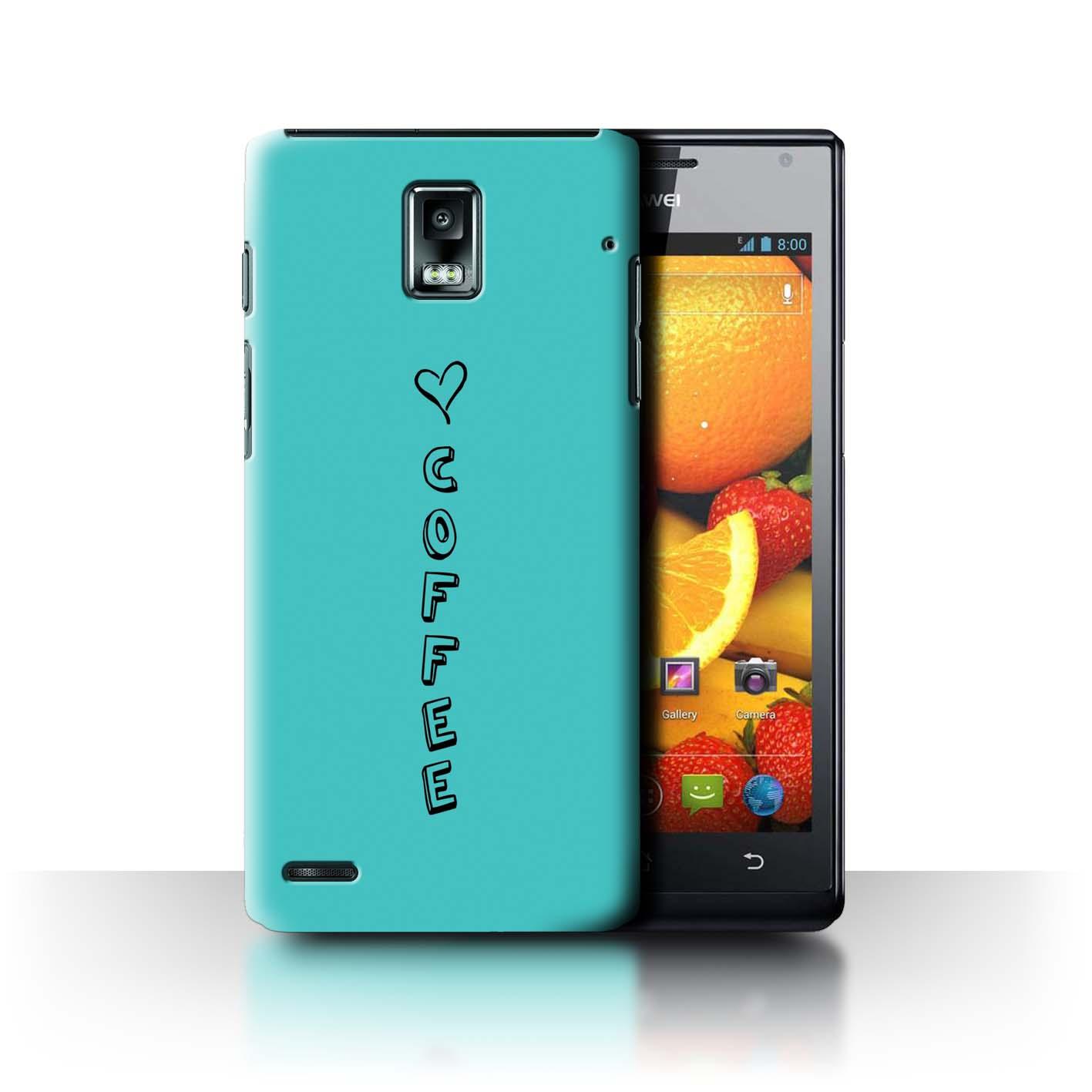 Stuff 4 teléfono caso/cubierta trasera para Huawei Ascend P1/Corazón Xoxo