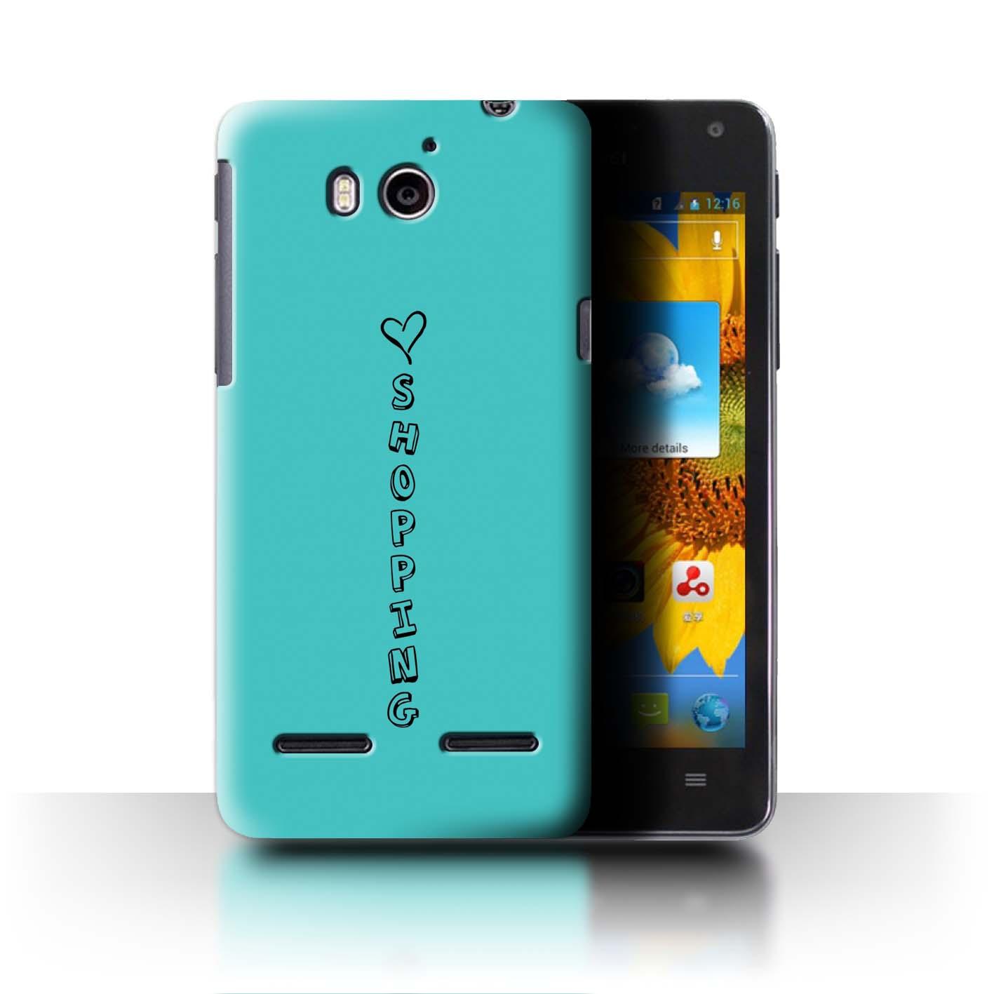 Stuff 4 teléfono caso/cubierta trasera para Huawei Honor 2/U9508/Corazón Xoxo
