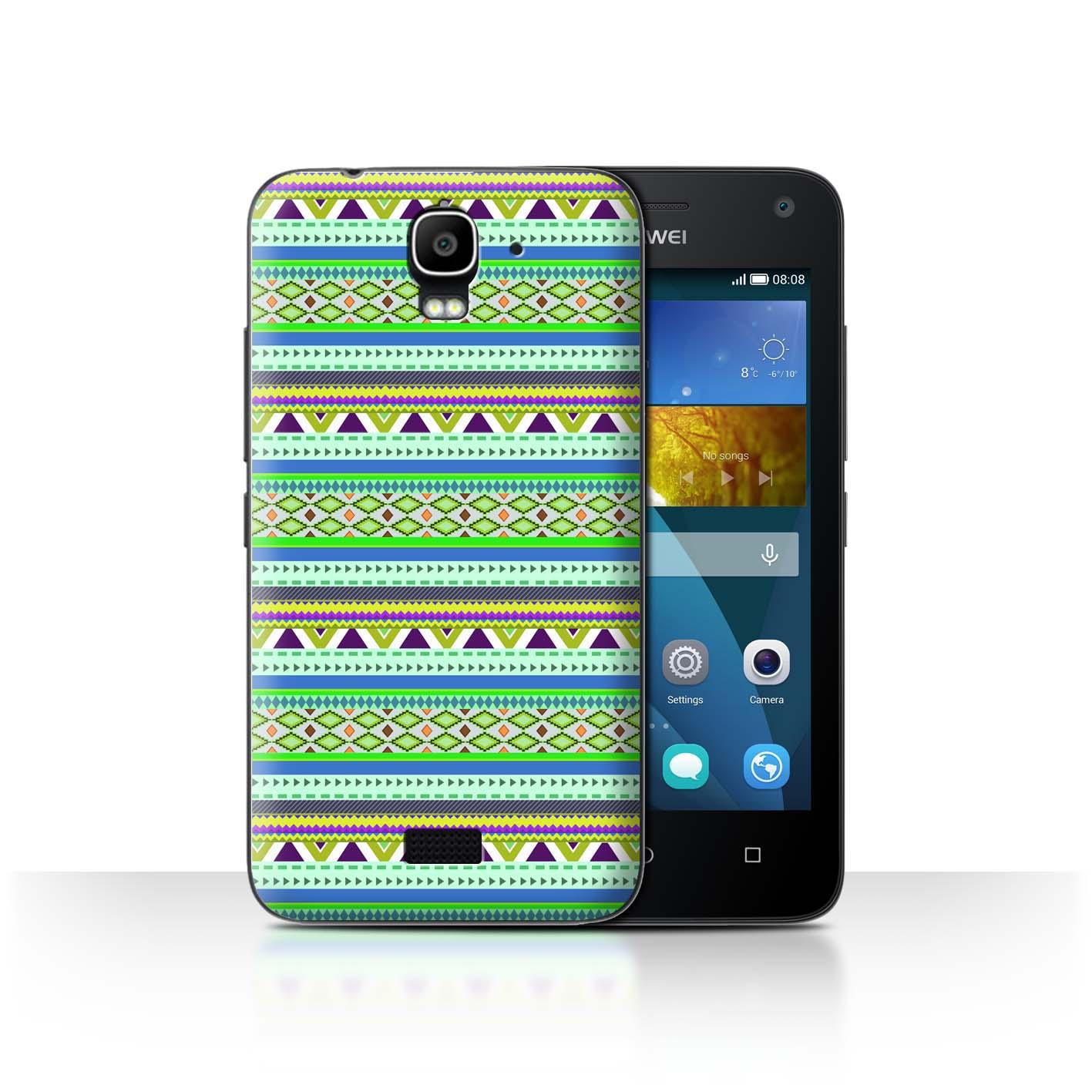 STUFF4-Back-Case-Cover-Skin-for-Huawei-Y3-Y360-Aztec-Tribal-Pattern