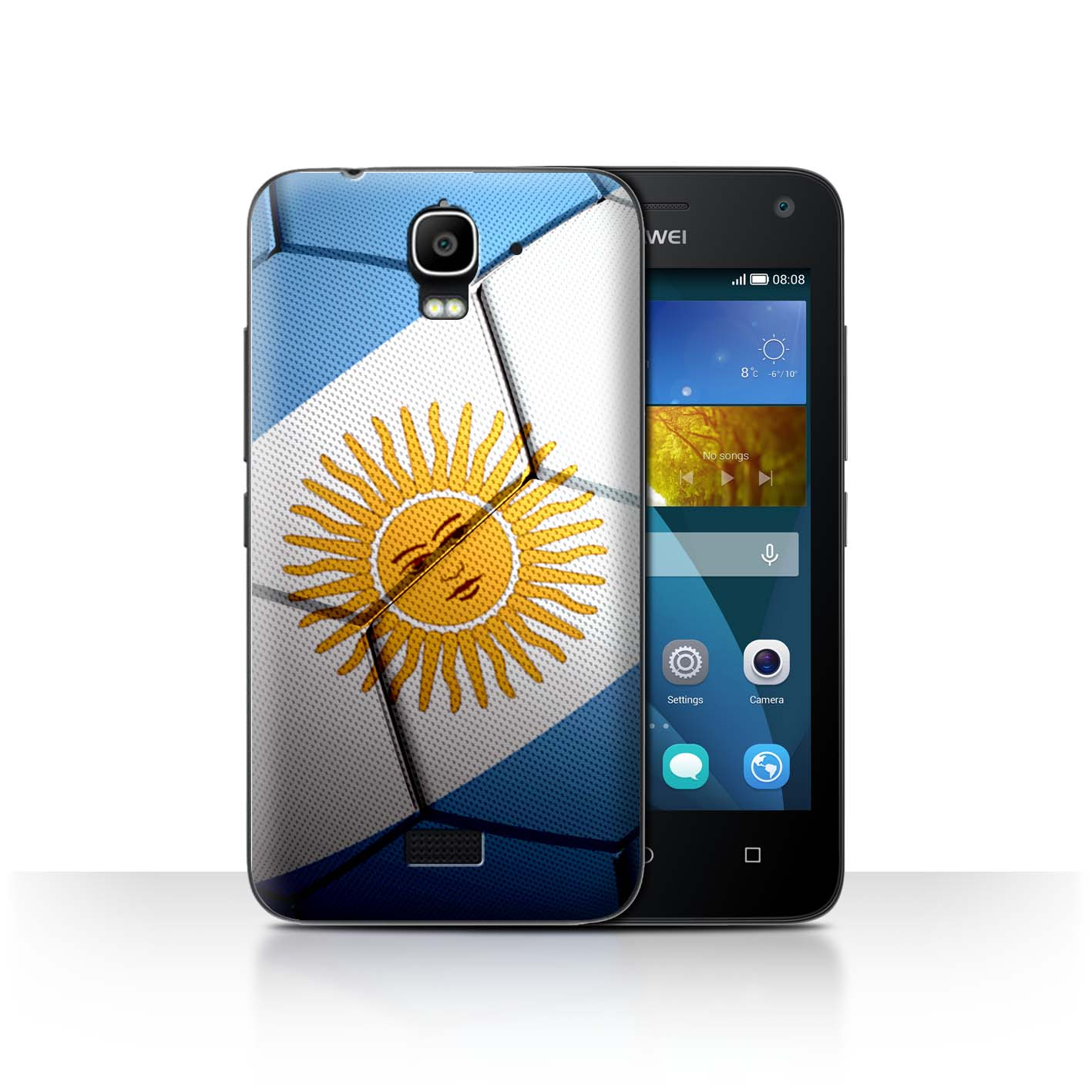 STUFF4-Back-Case-Cover-Skin-for-Huawei-Y3-Y360-Football-Nations