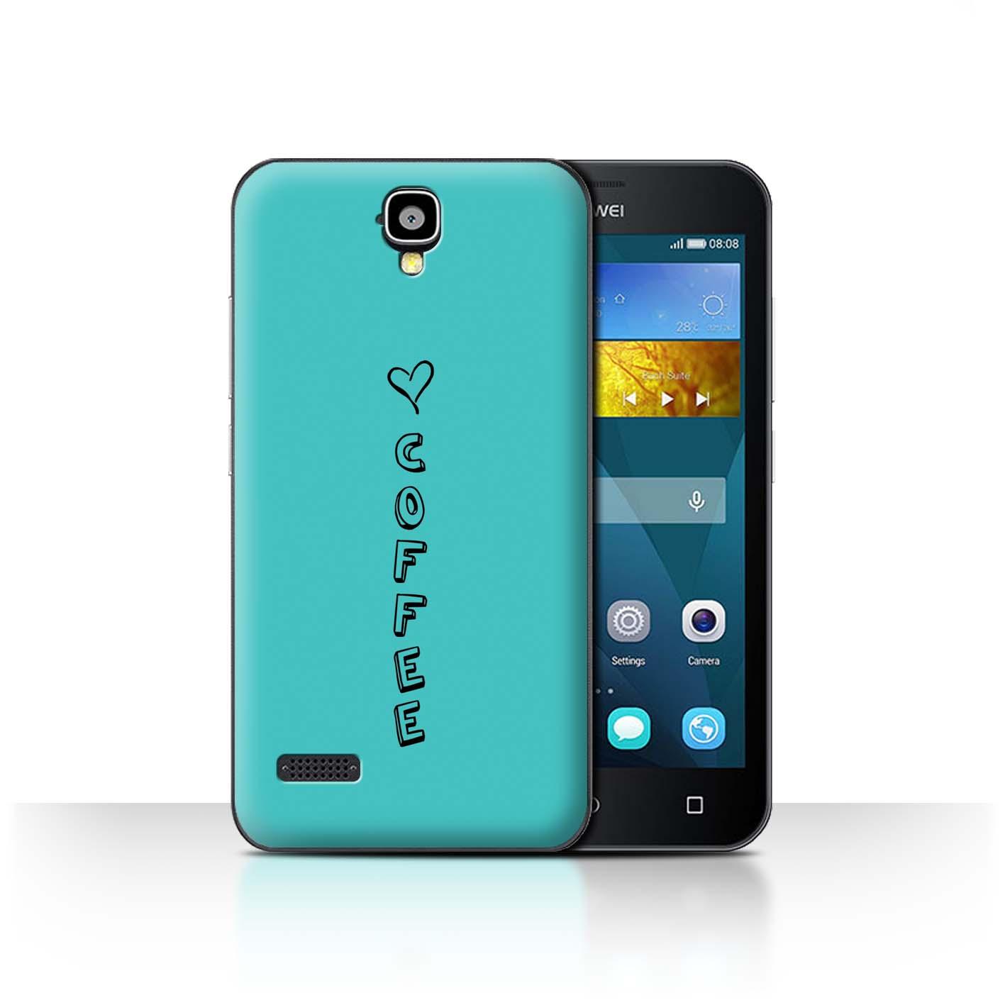 Stuff4 Hülle/Case/Backcover für Huawei Y5 /Y560/Herz XOXO