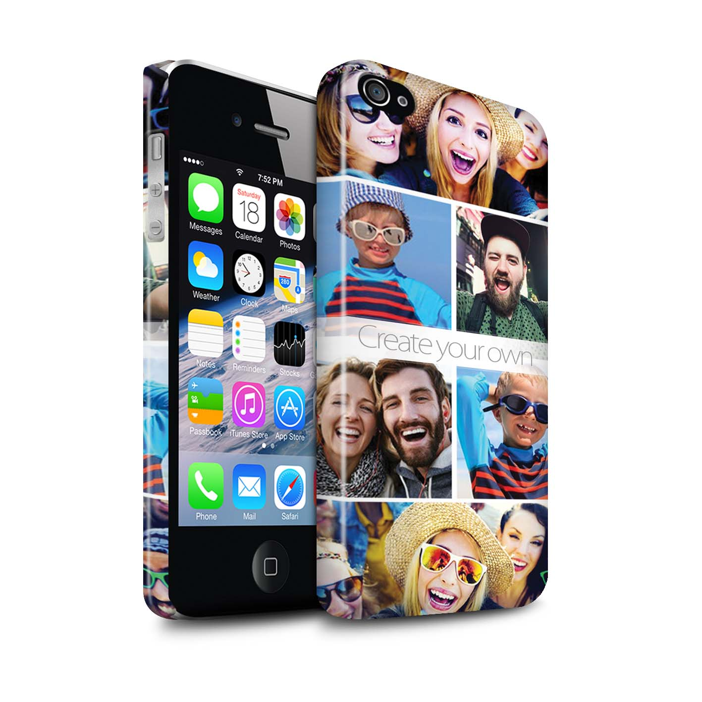 personalized custom phone case cover for apple iphone your photo