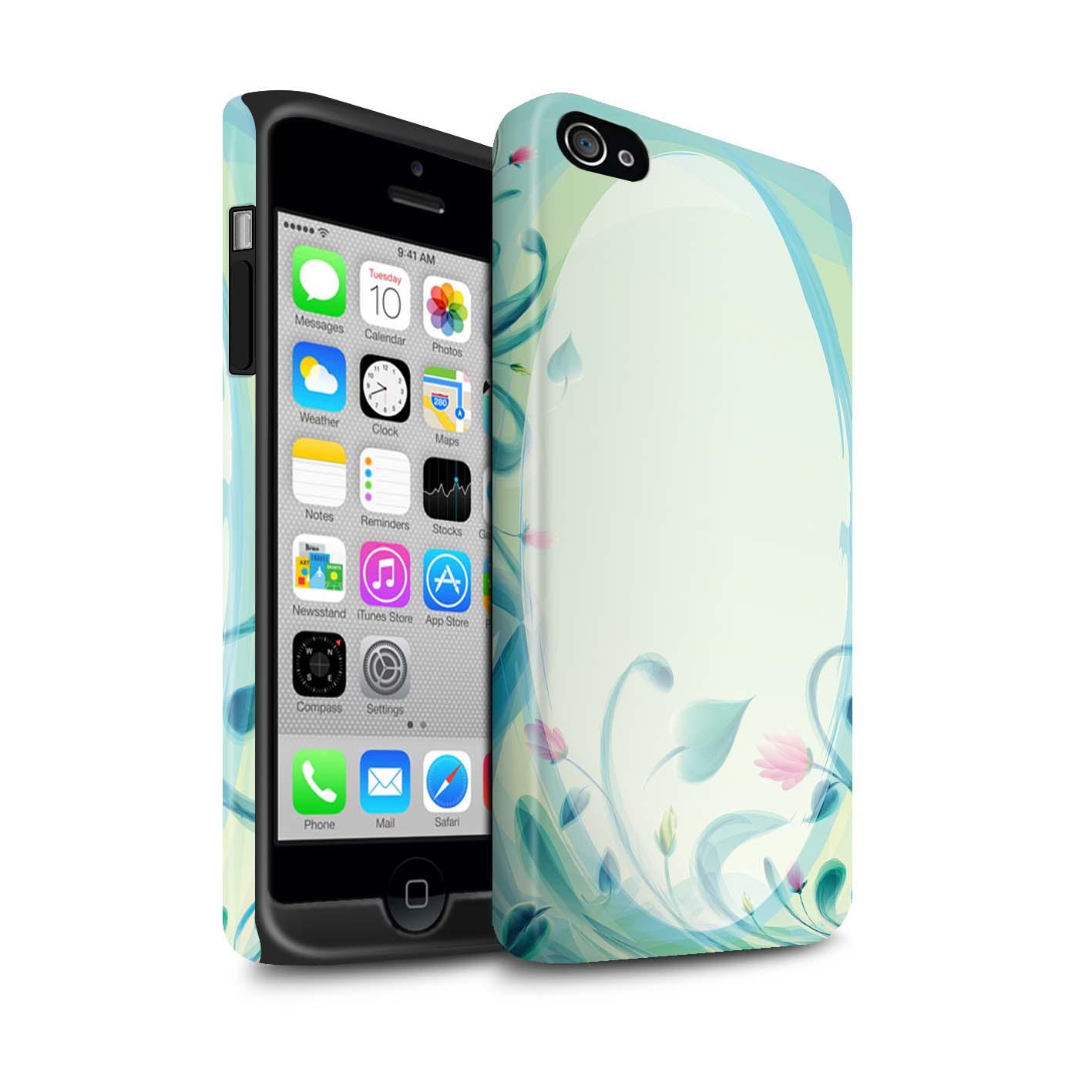 STUFF4-Coque-Robuste-Matte-pour-Apple-iPhone-Smartphone-Mode-Sarcelle-Etui