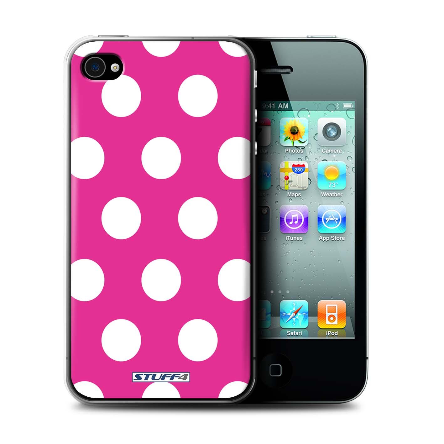 STUFF4-Coque-Etui-pour-Apple-iPhone-Smartphone-Motif-a-Pois-Protection-Housse