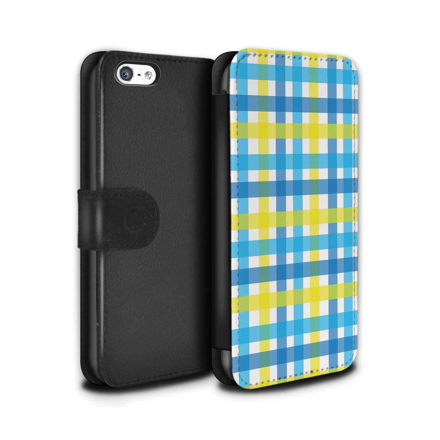 STUFF4-Coque-Etui-Case-Cuir-PU-pour-Apple-iPhone-5C-Mode-Jaune
