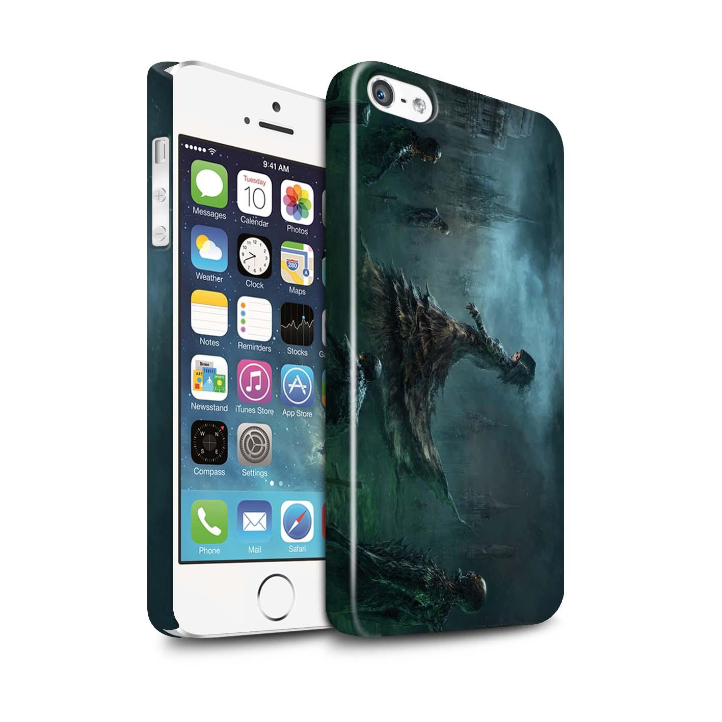 Officielle-Chris-Cold-Coque-Brillant-pour-Apple-iPhone-5-5S-Pegre-Enfer
