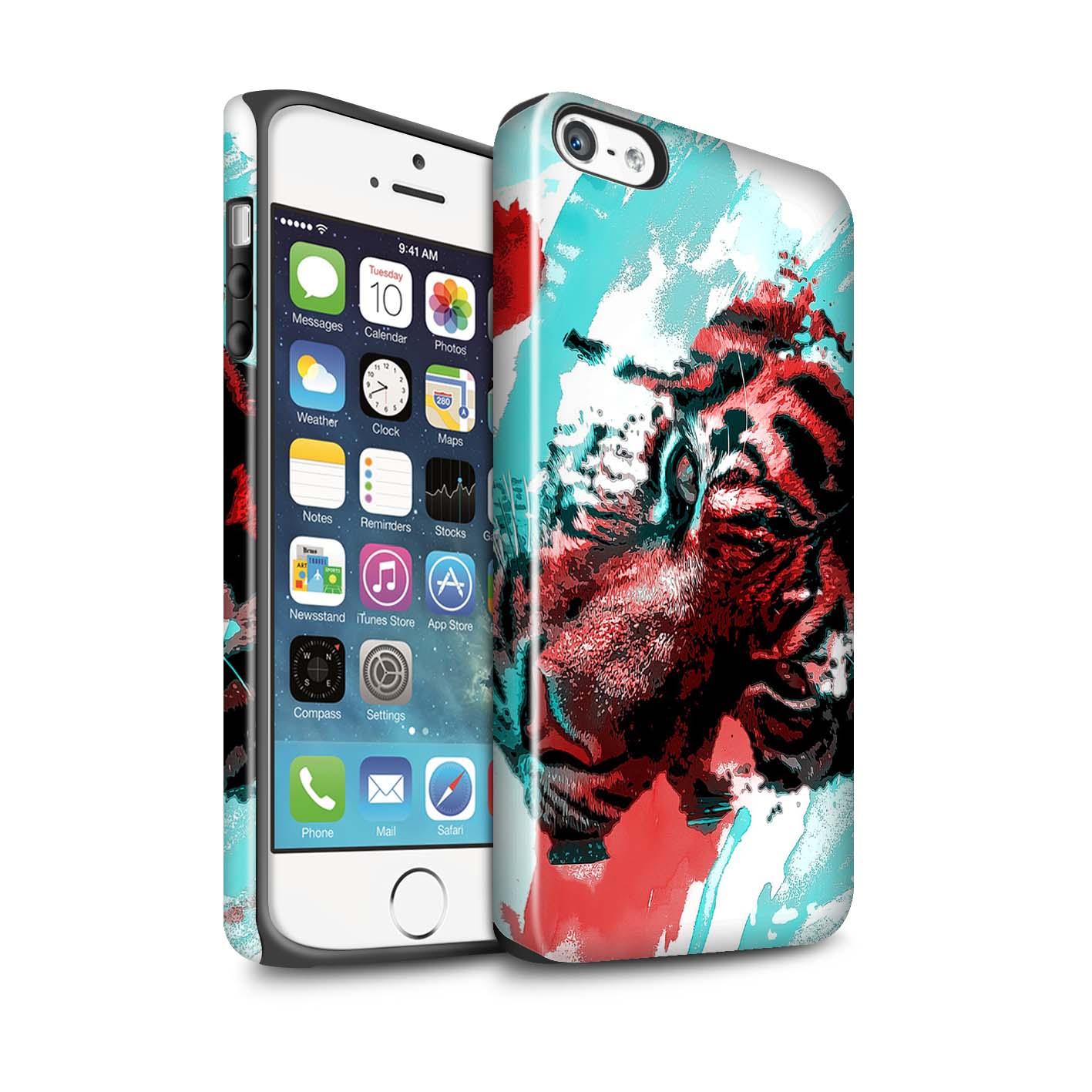 Robuste-Brillant-Antichoc-Etui-STUFF4-pour-Apple-iPhone-5-5S-Fragments