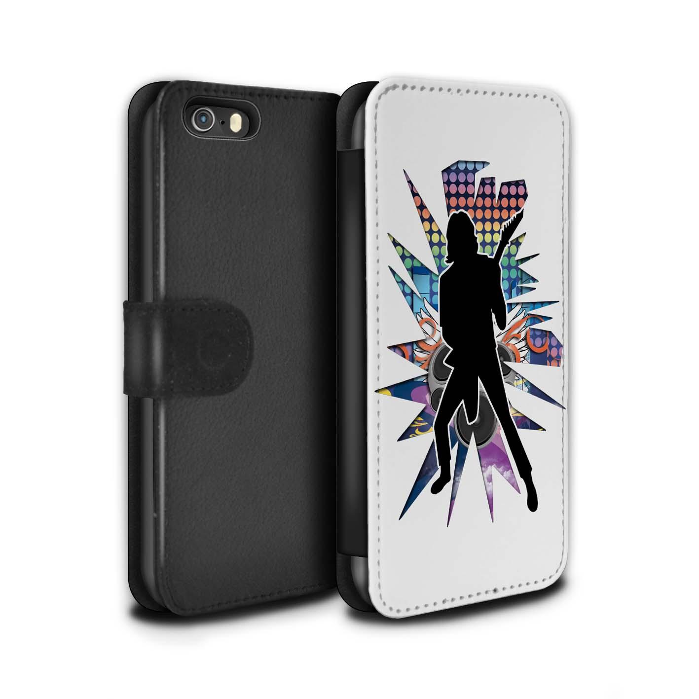 STUFF4-Coque-Etui-Case-Cuir-PU-pour-Apple-iPhone-5-5S-Rock-Star-Pose