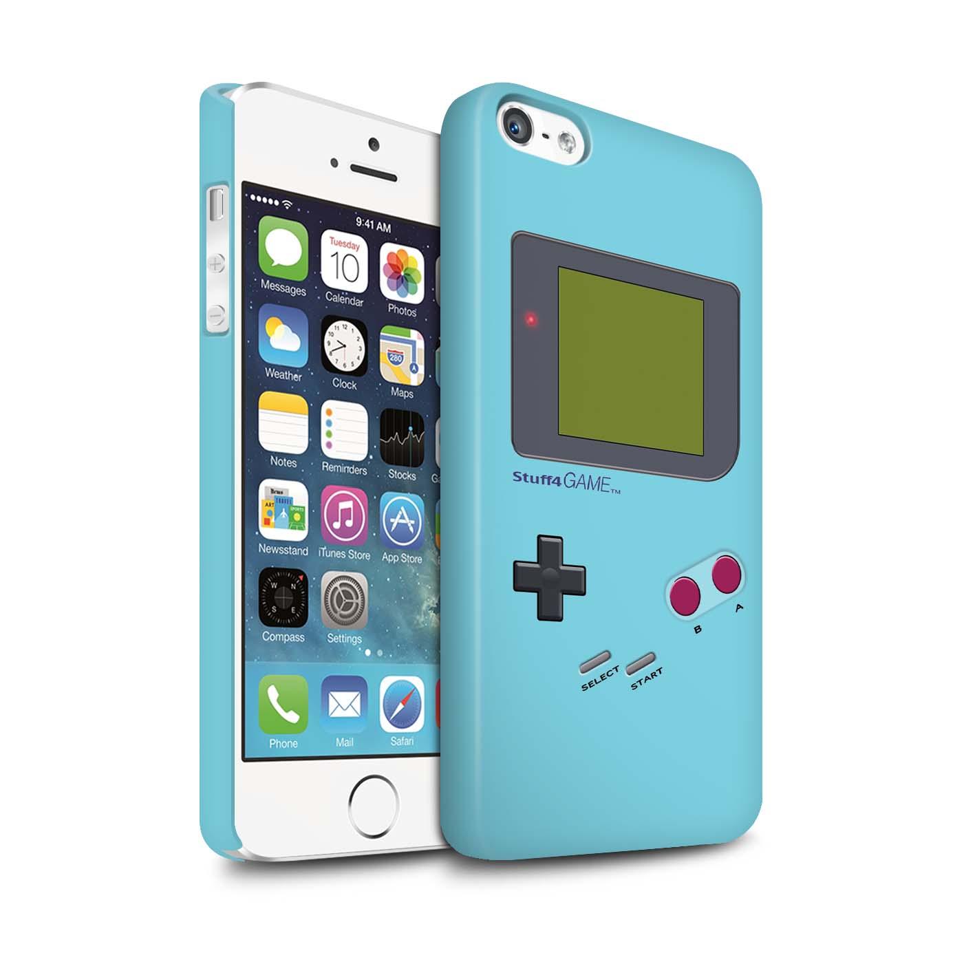 STUFF4-Matte-Phone-Case-for-Apple-iPhone-SE-Video-Gamer-Gameboy