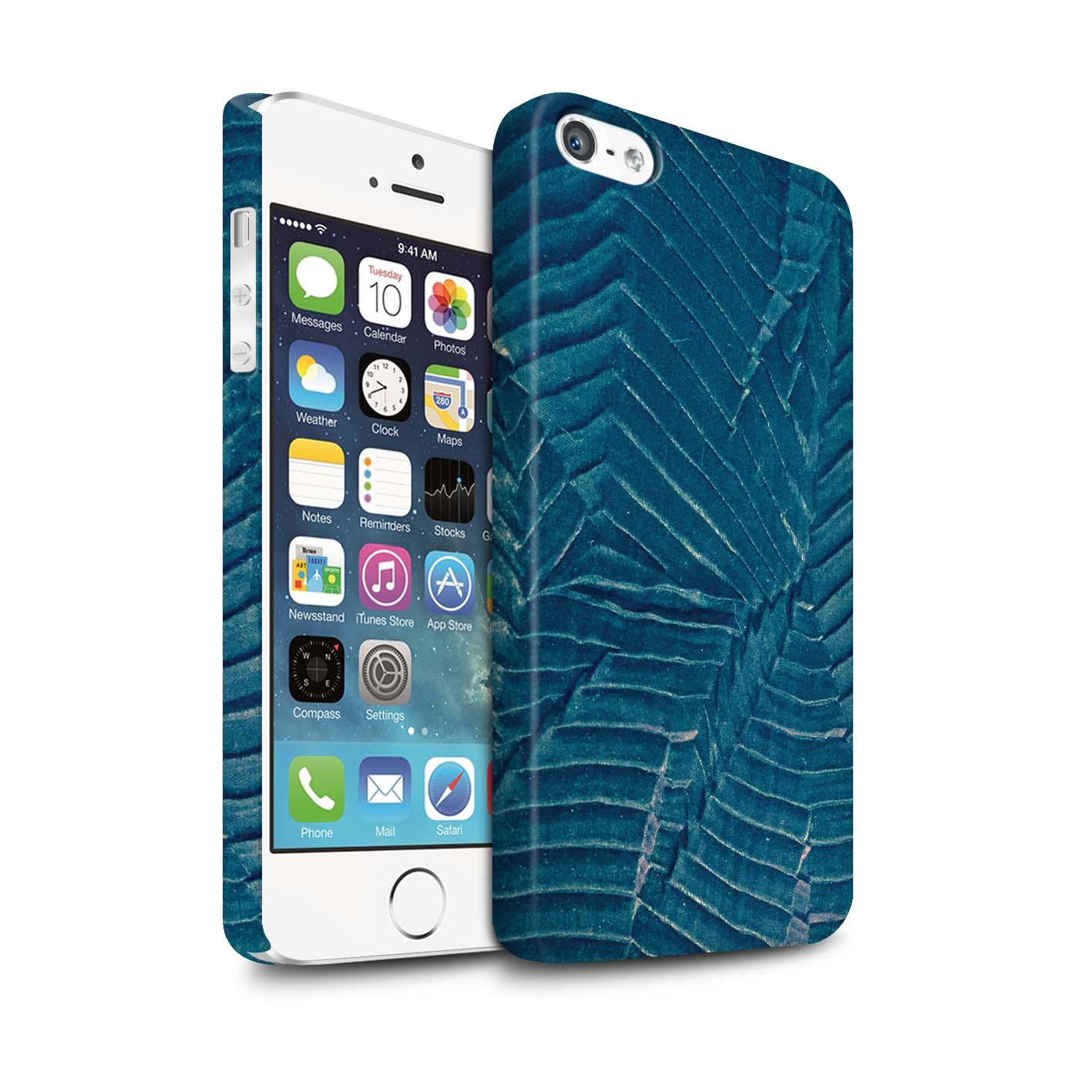 Coque-Etui-Matte-de-STUFF4-pour-Apple-iPhone-SE-Mode-Sarcelle